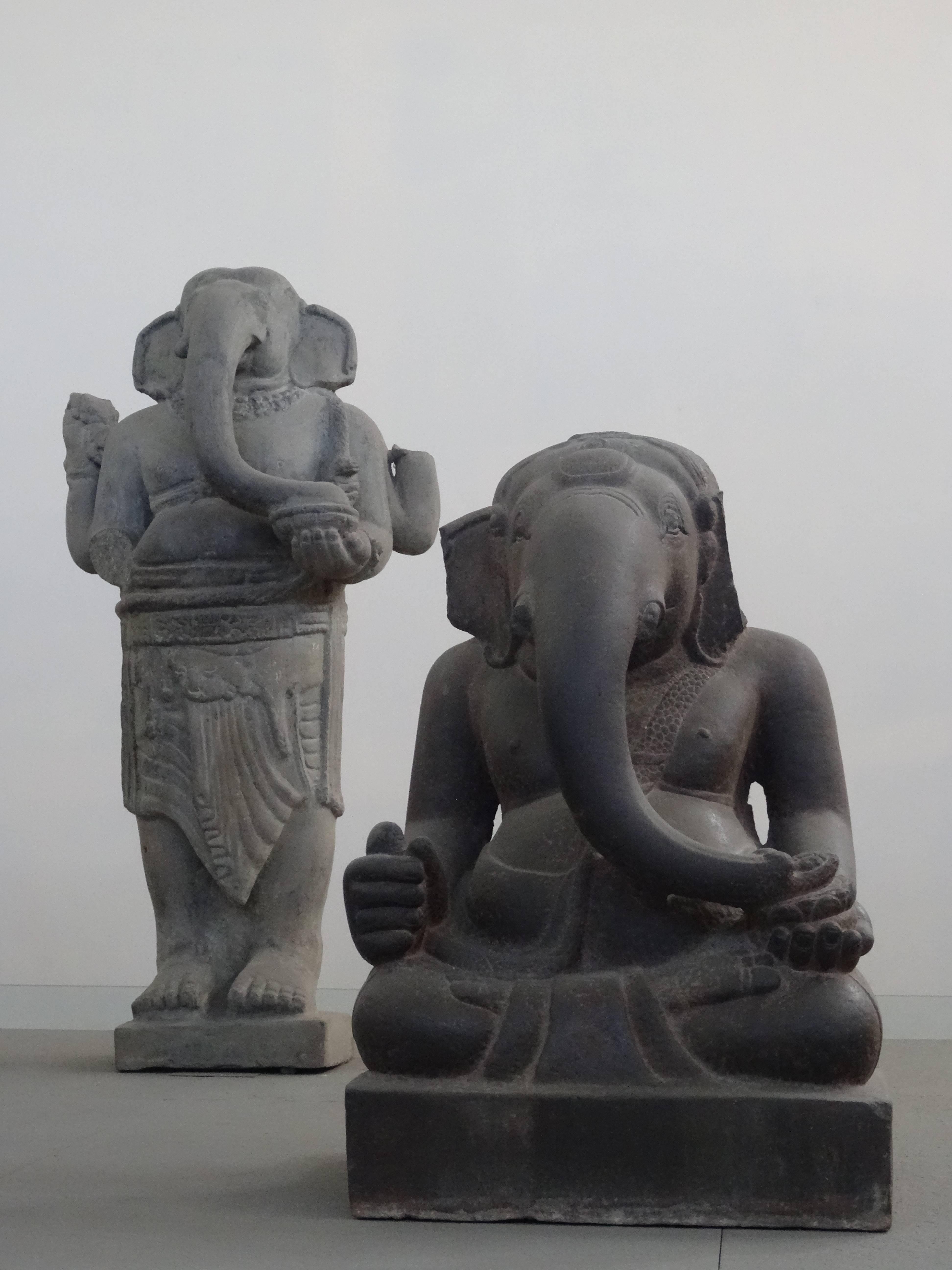 Photo 2: Musée d'art Cham à Da Nang, pour qui aime la sculpture....