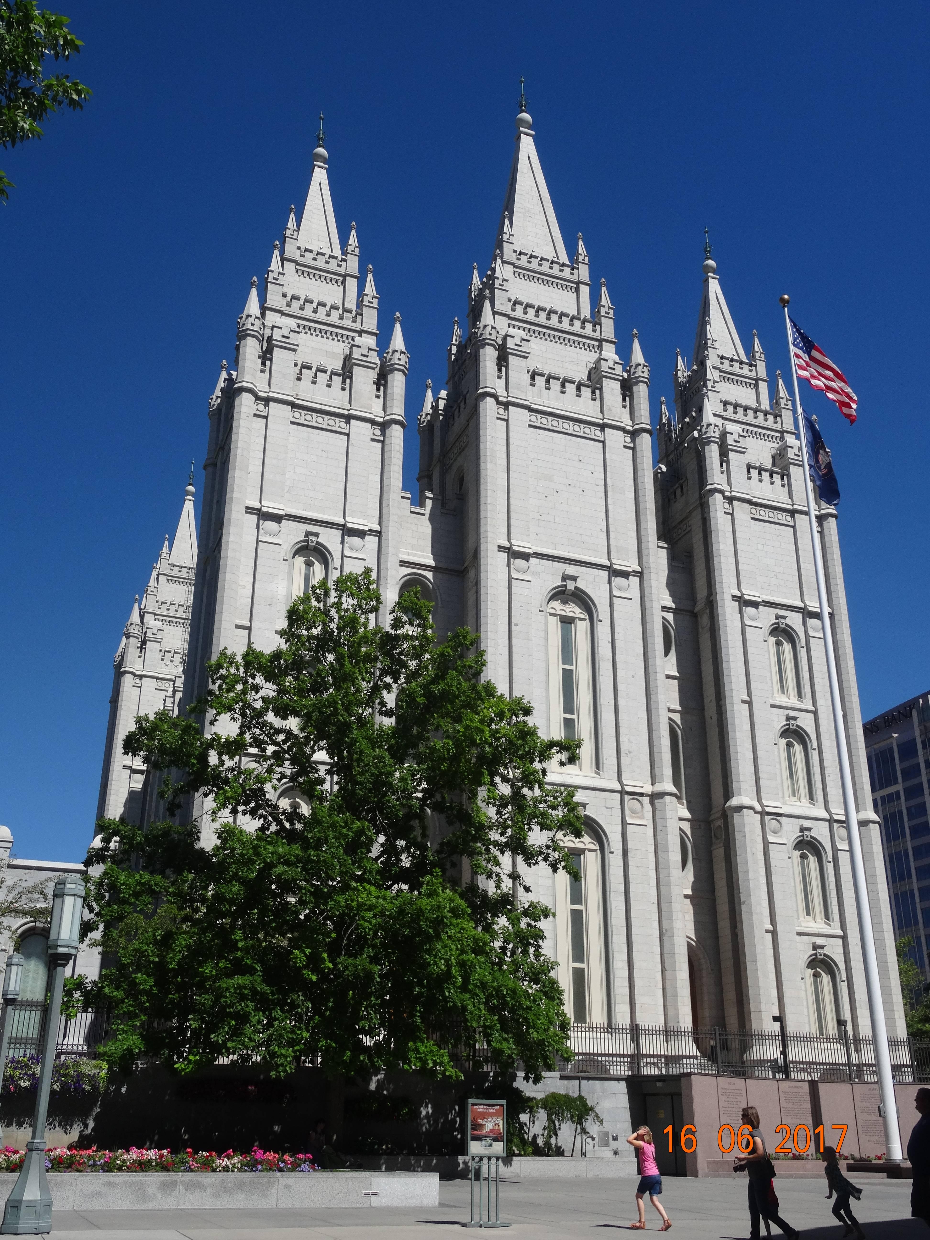 Photo 1: Salt Lake City, Utah, petite plongée chez les Mormons
