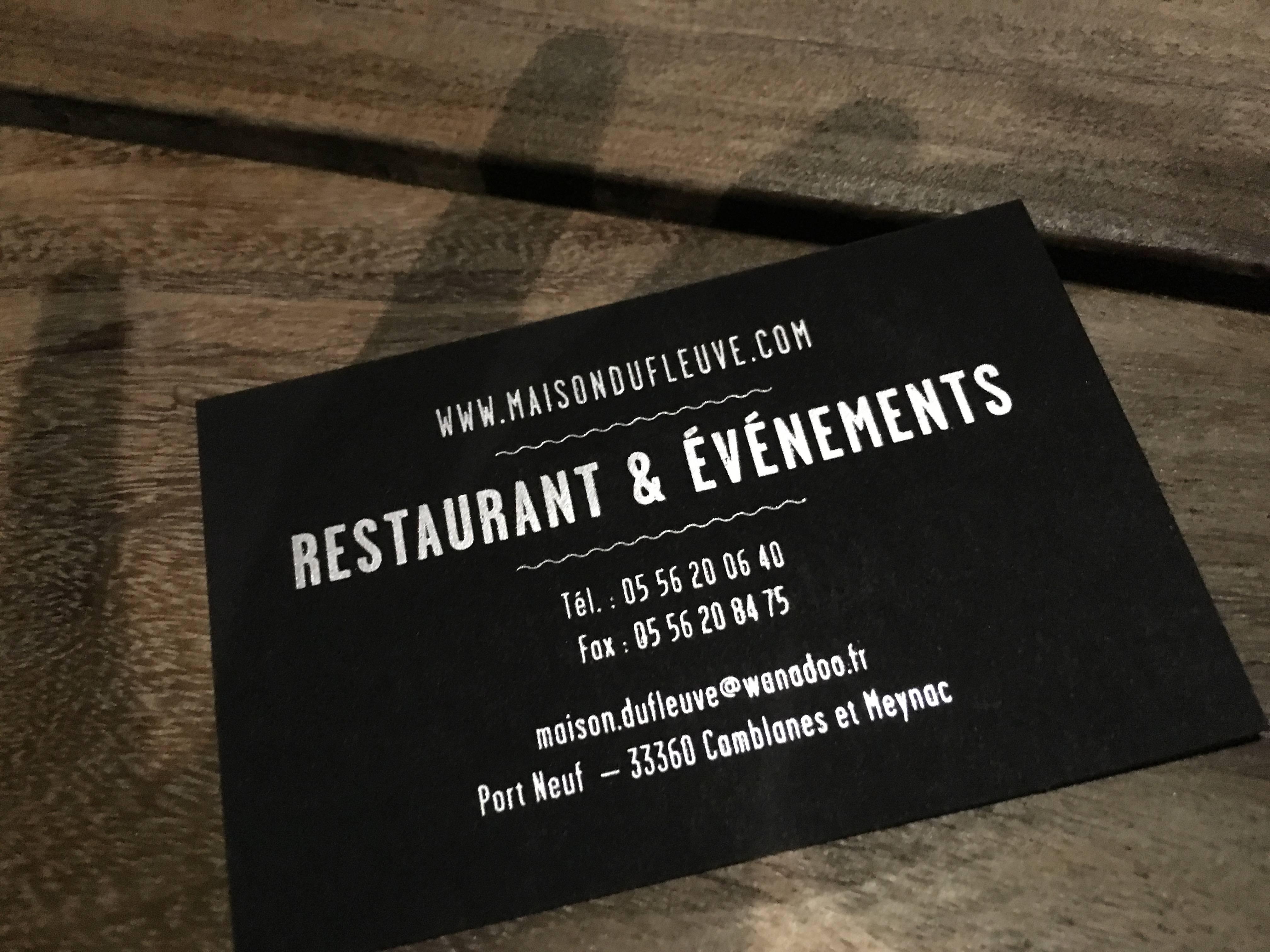Photo 3: Restaurant la maison du fleuve