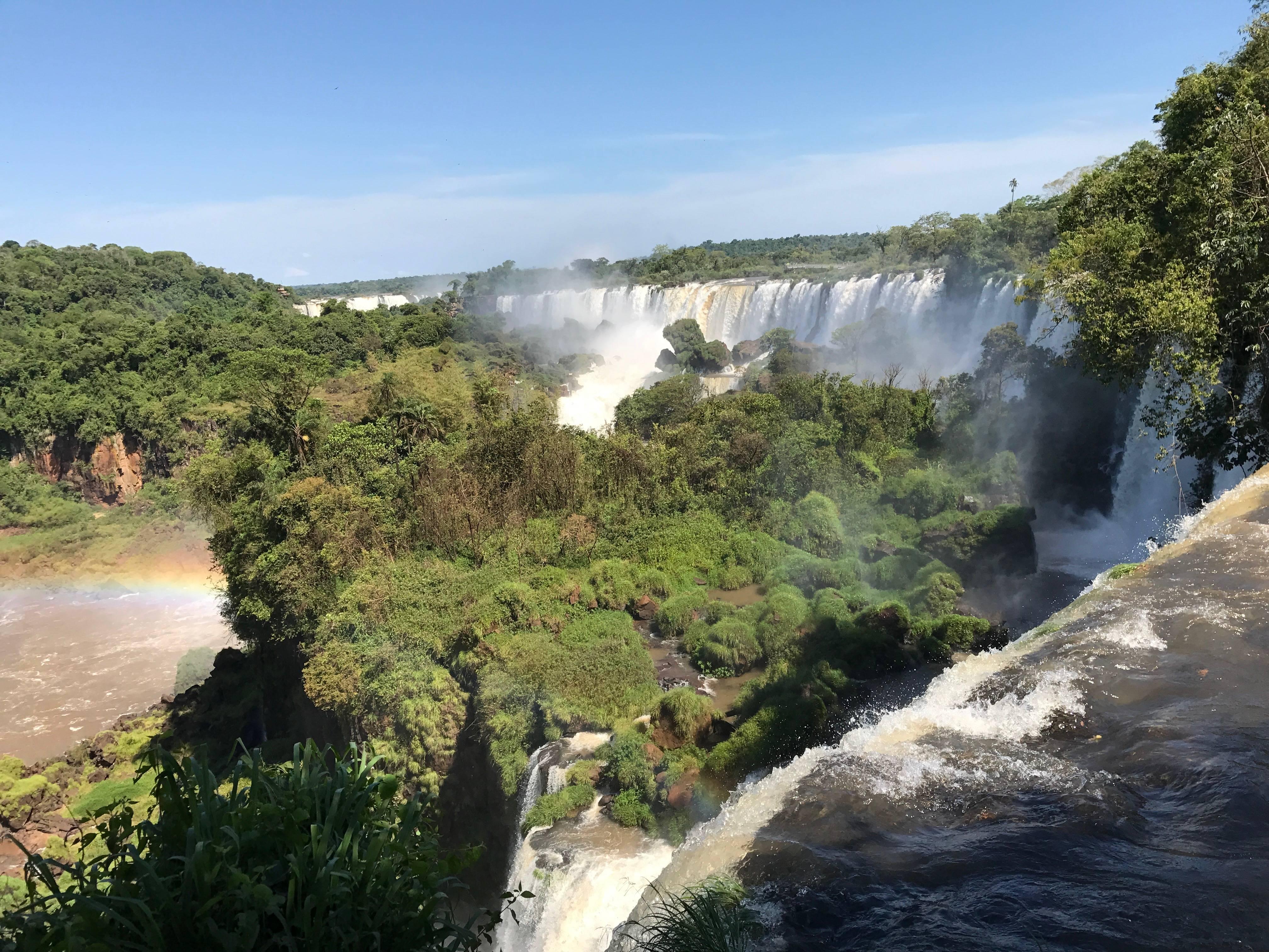 Photo 1: Les chutes d'Iguaçu en Argentine