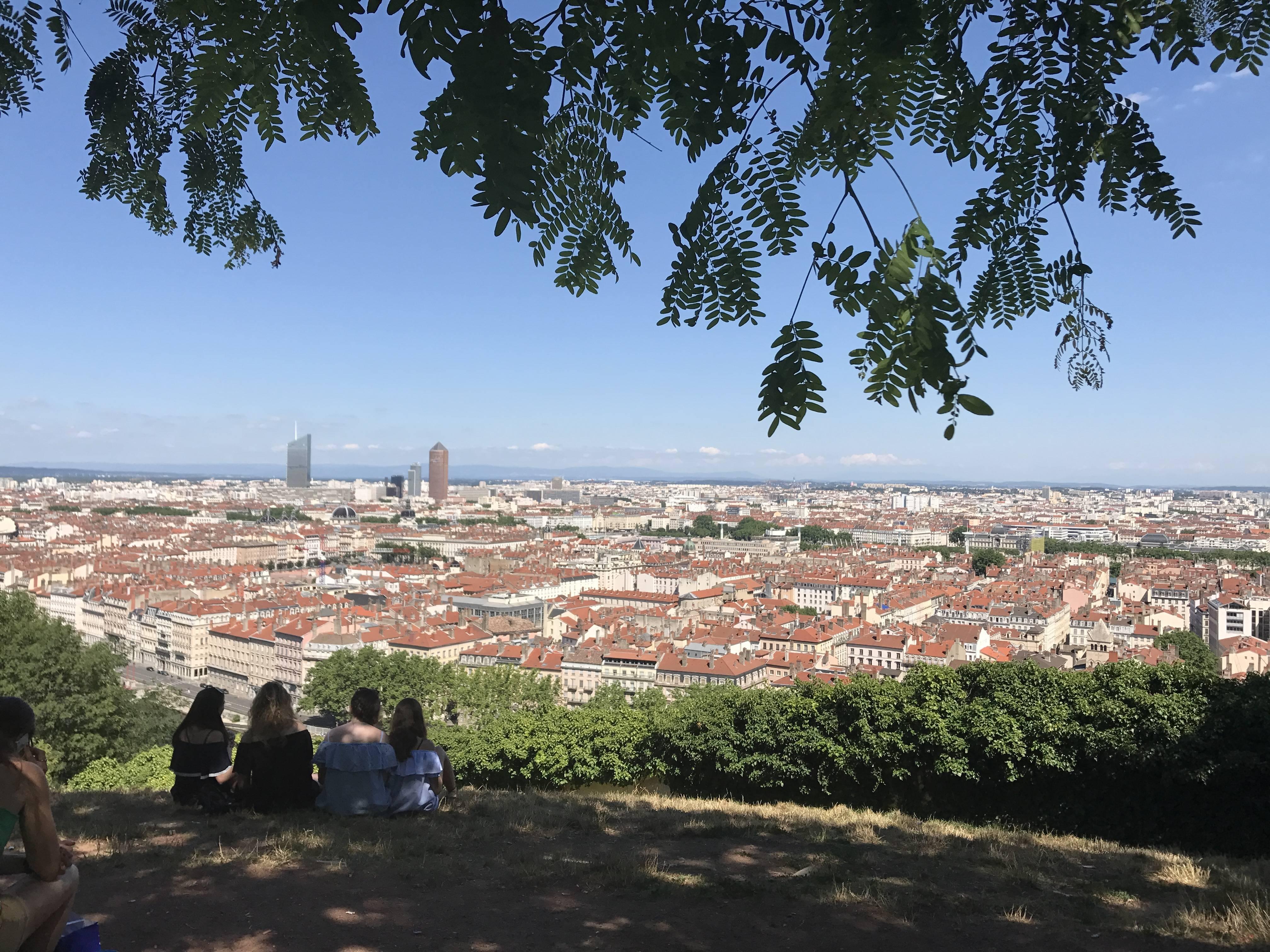 Photo 3: Le jardin des curiosités - une vue sur Lyon