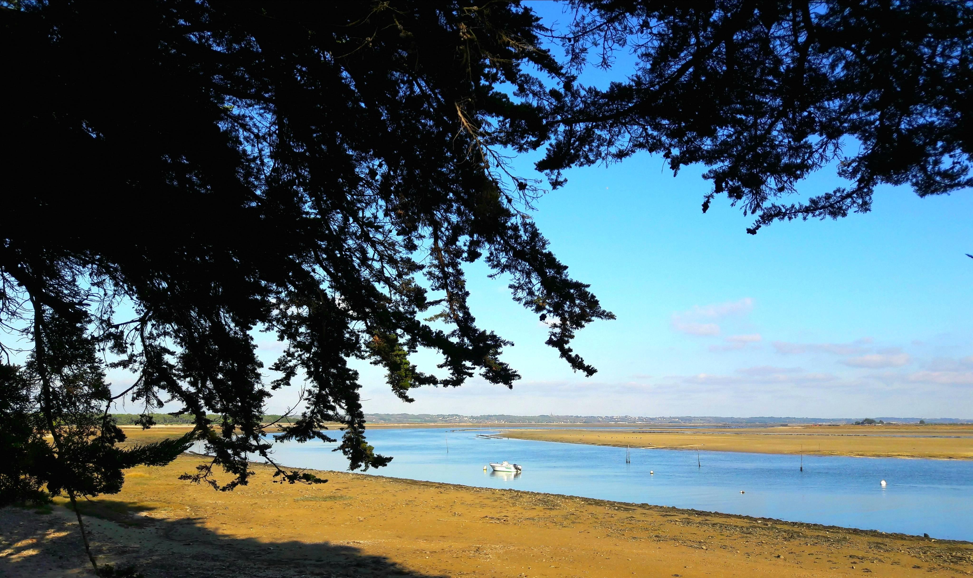 Photo 1: Pointe de Pen-Bron - entre marais et océan