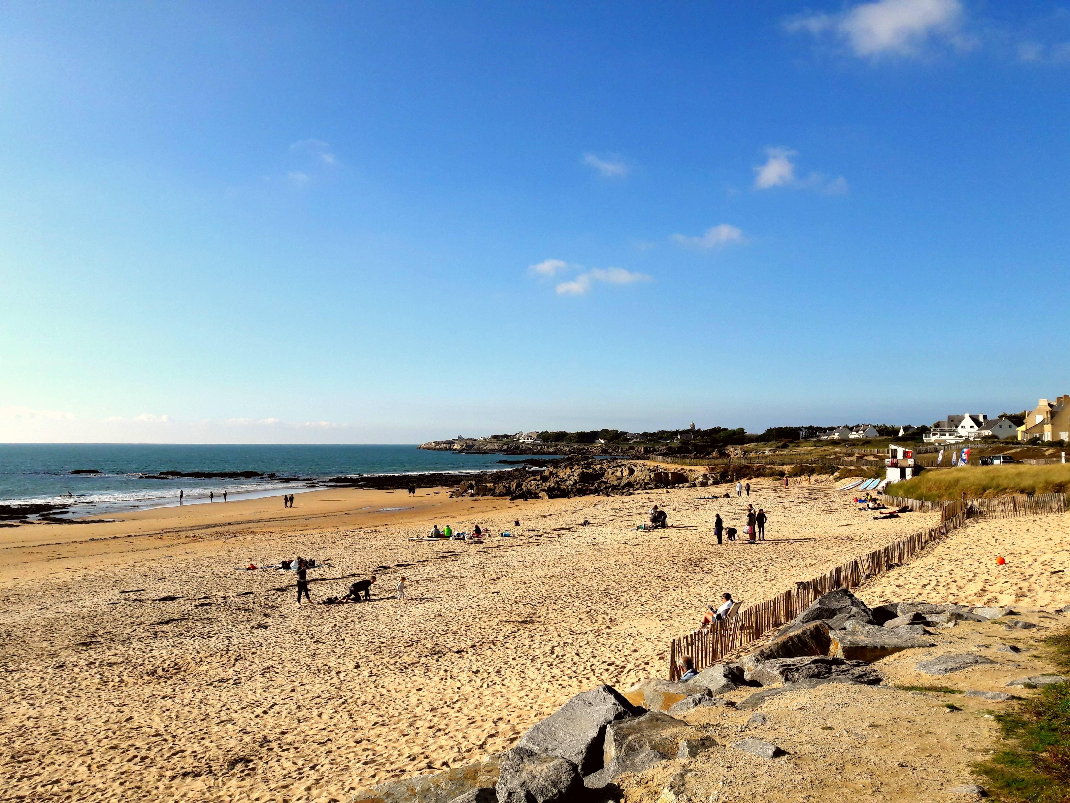 Photo 1: Plage de la Govelle - stop sur la côte sauvage