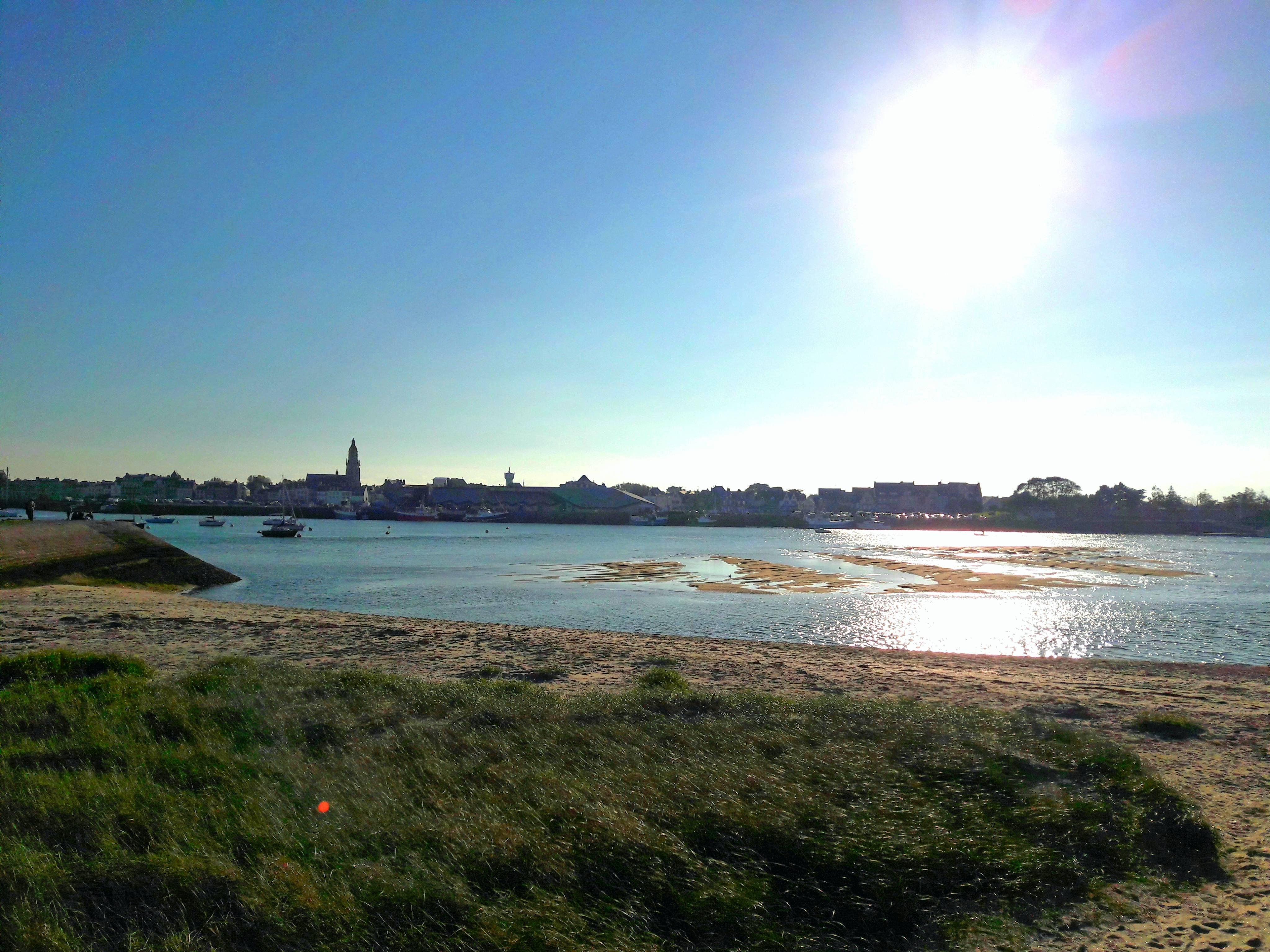 Photo 3: Pointe de Pen-Bron - entre marais et océan