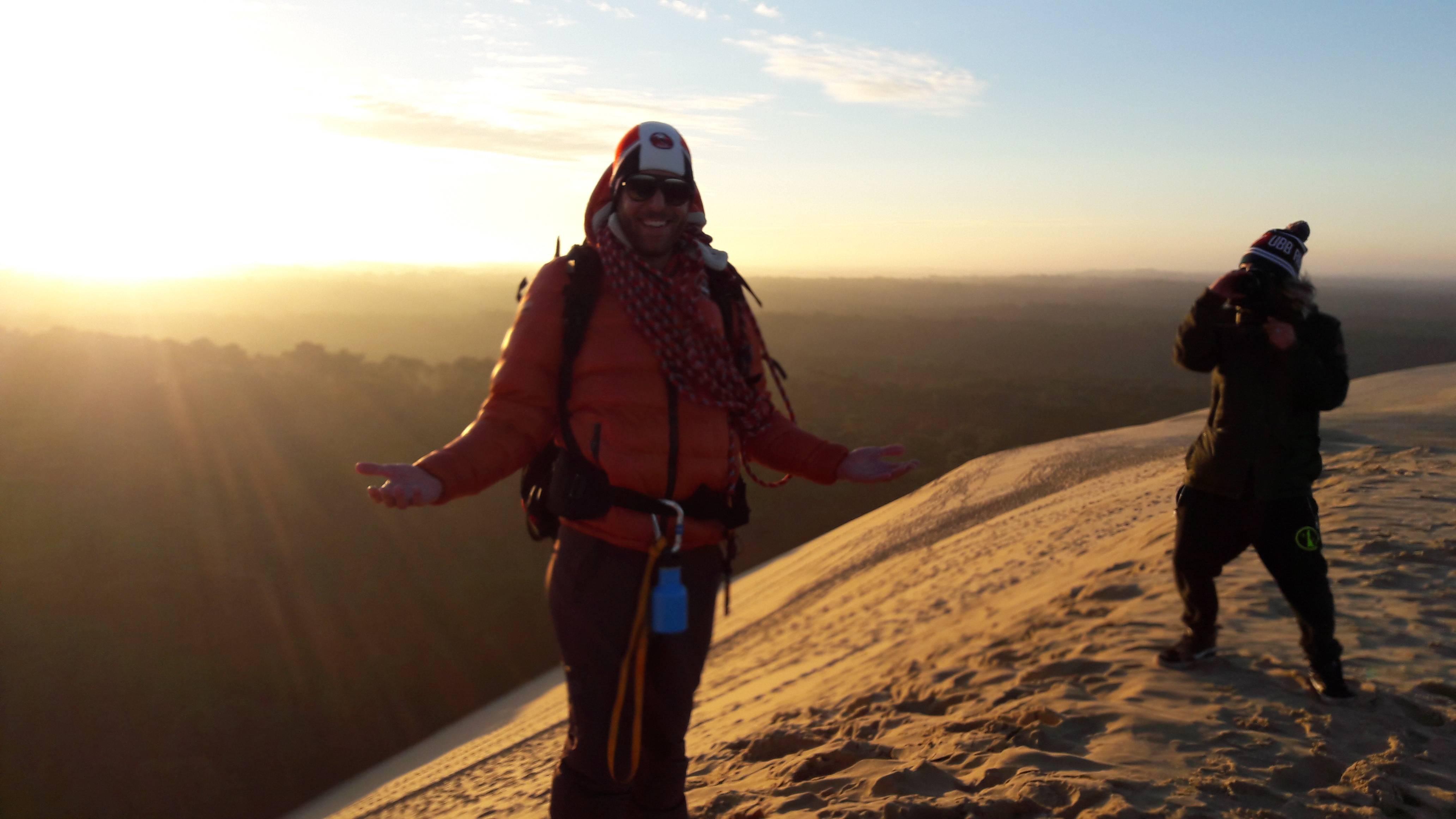"""Photo 2: La dune du pilat... Mais au """"lever du soleil"""""""