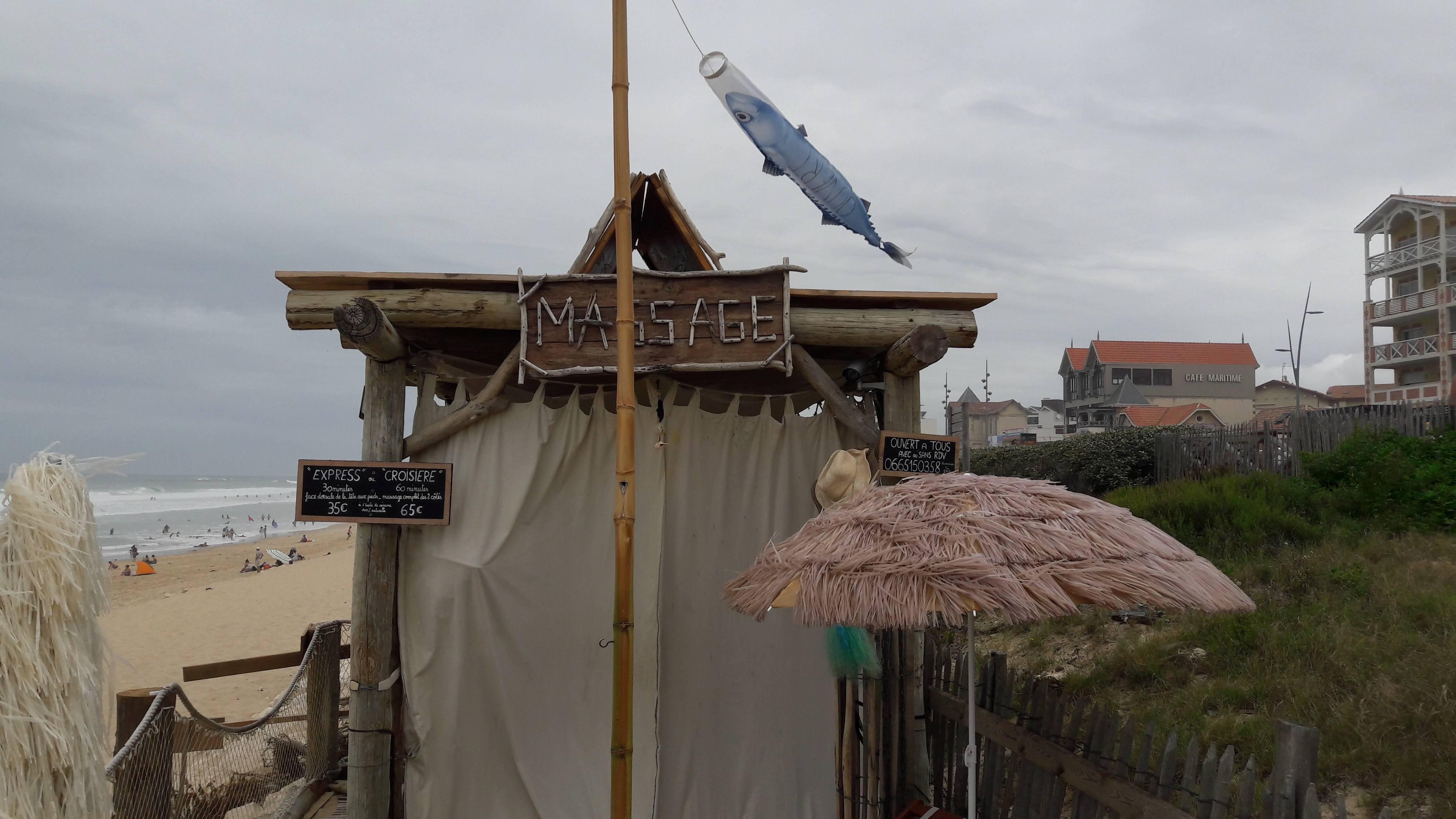 Photo 2: Massage face à l'océan à Lacanau