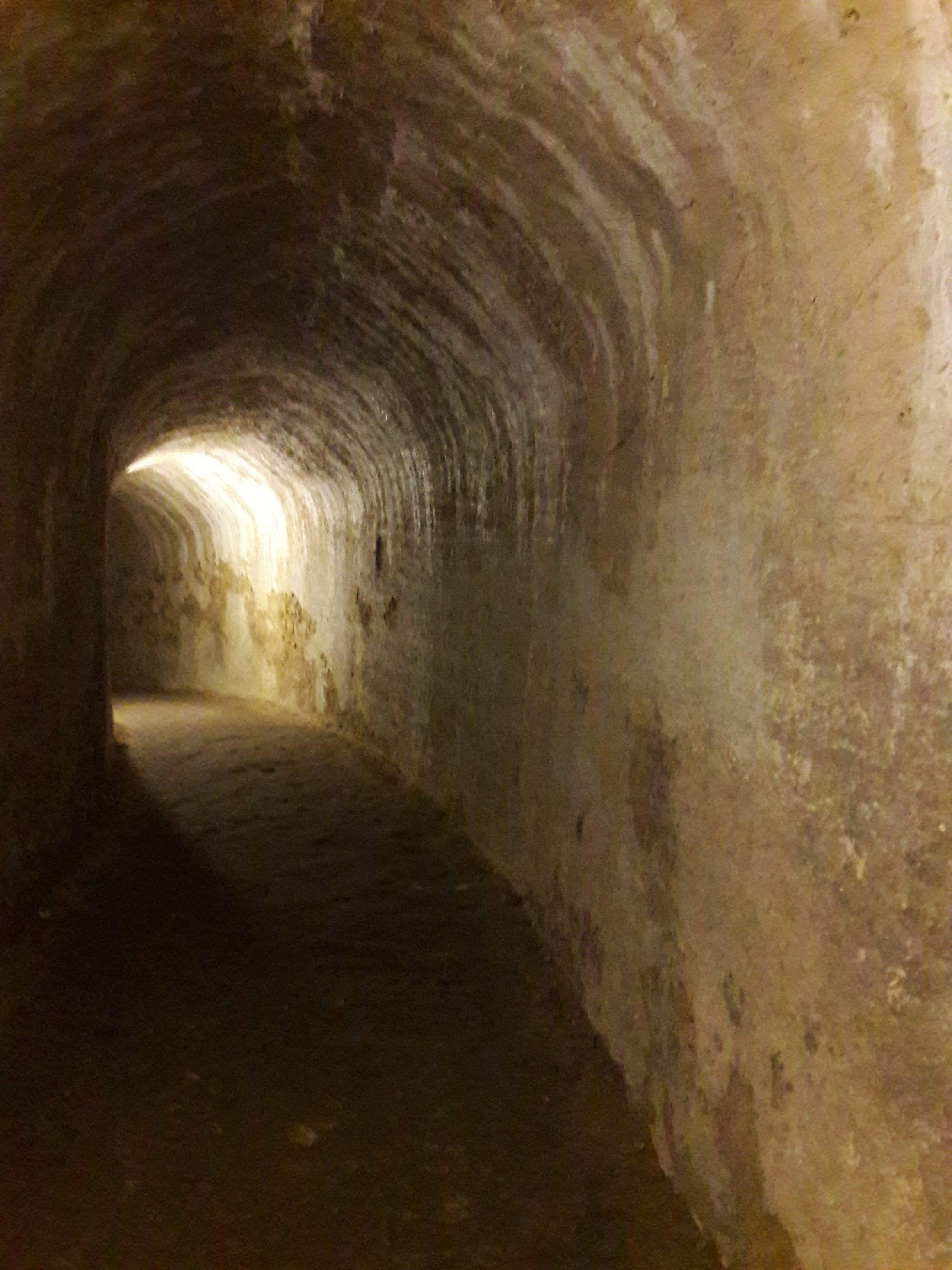 Photo 2: Visite des souterrains de la citadelle de Blaye