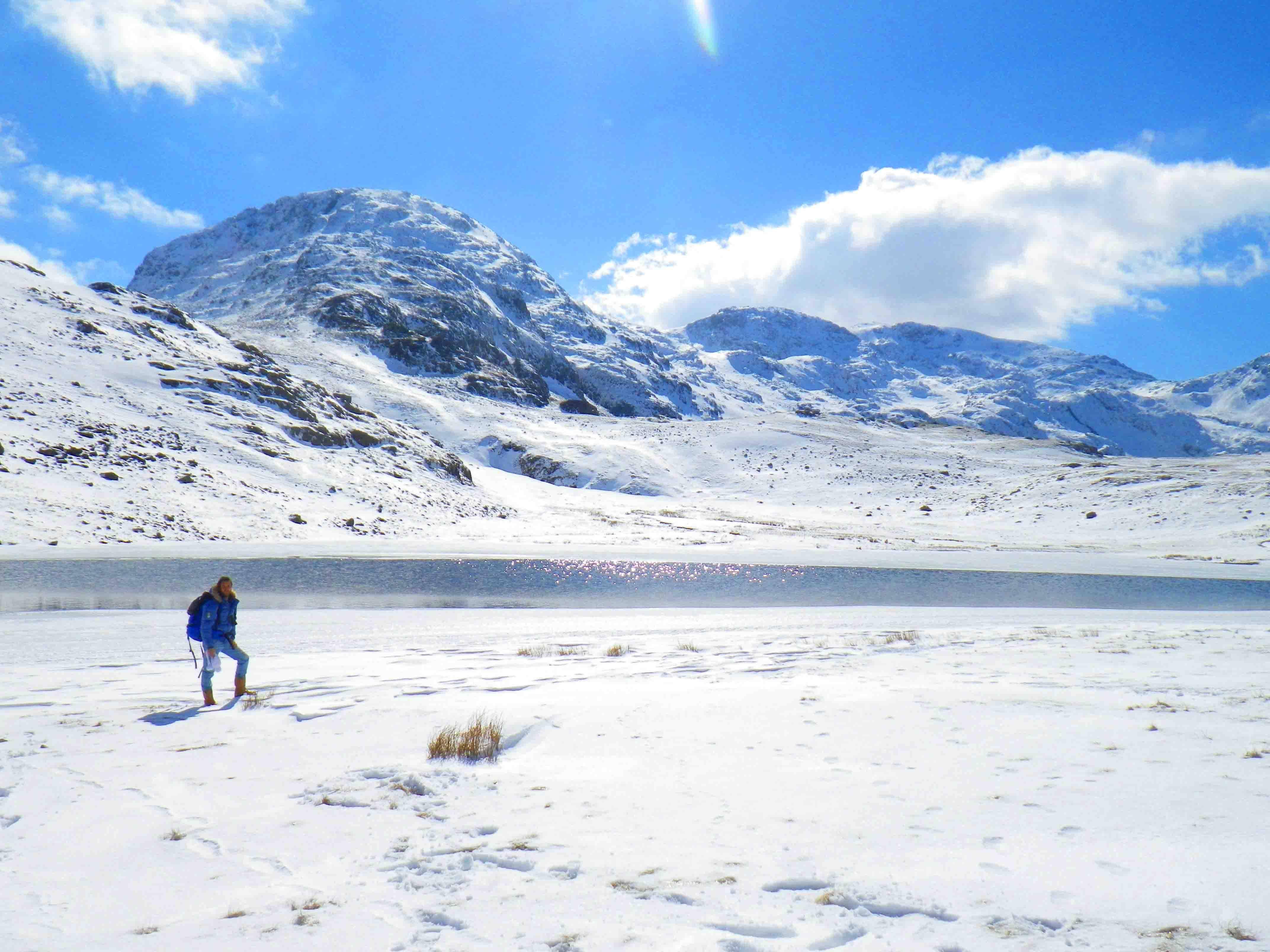 Photo 1: A la frontière écossaise