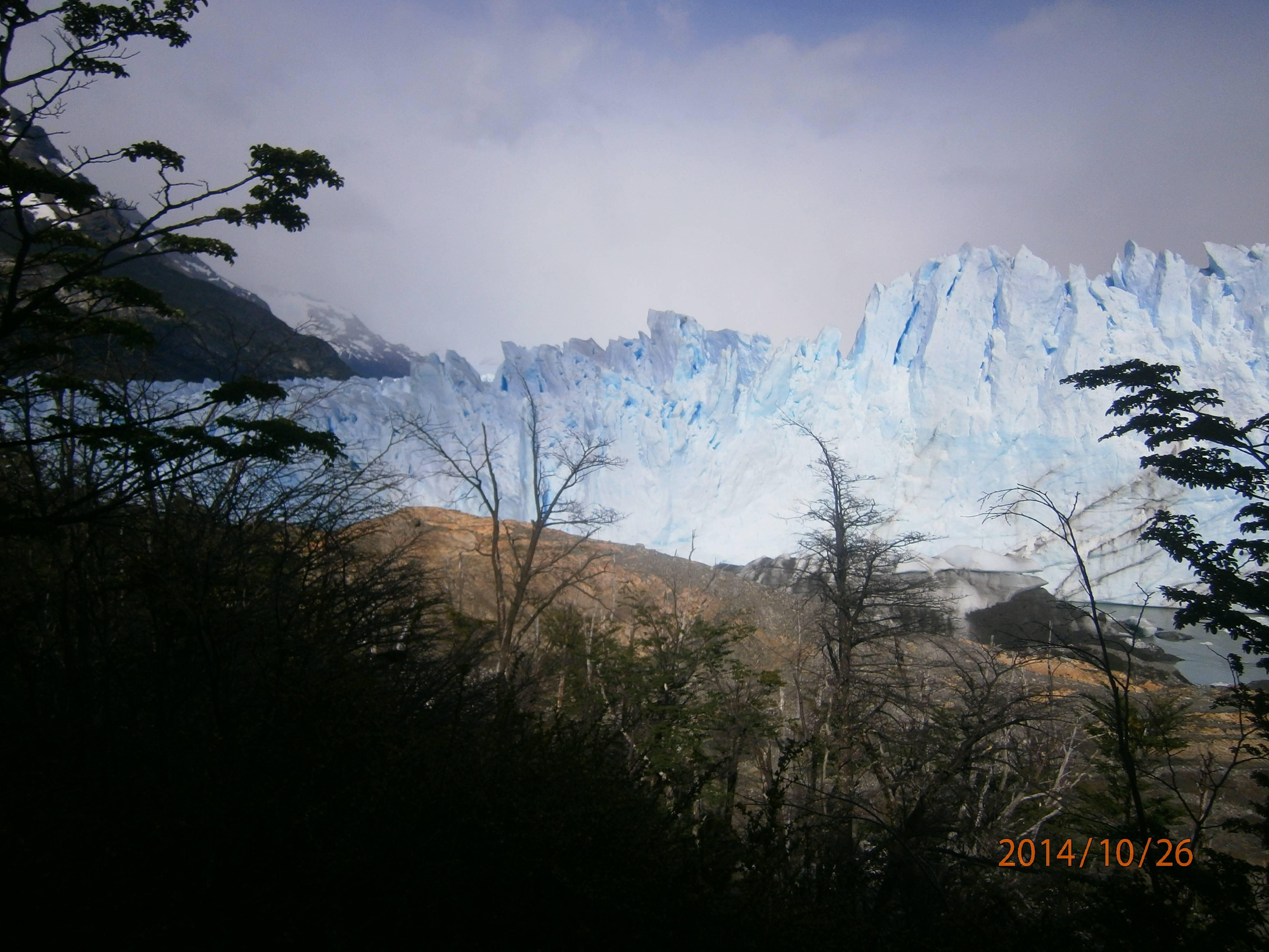 Photo 1: El calafate, glacier Perito Moreno, Sud de l'Argentine