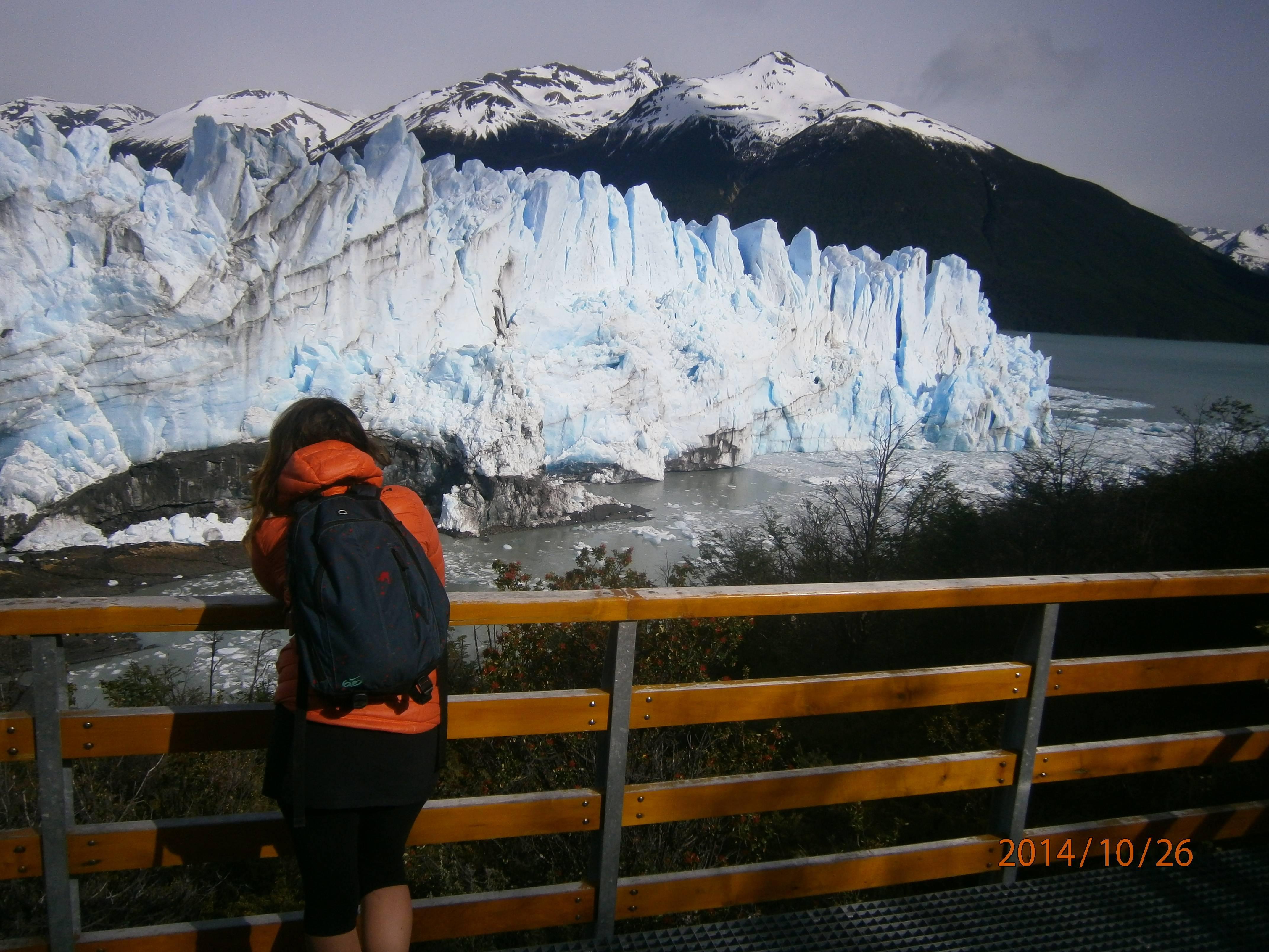Photo 2: El calafate, glacier Perito Moreno, Sud de l'Argentine