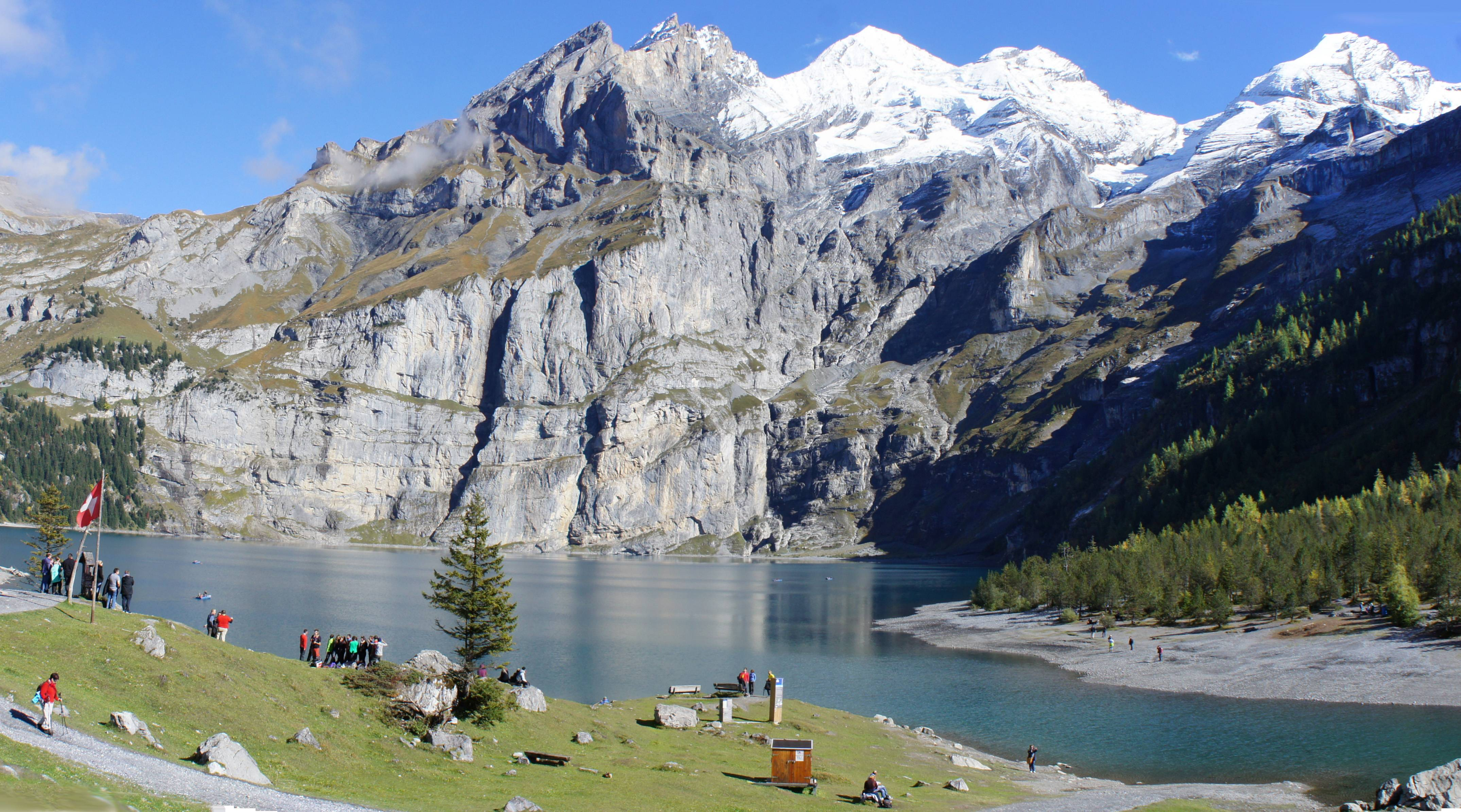 Photo 1: Détour par le Lac d'Oeschinen