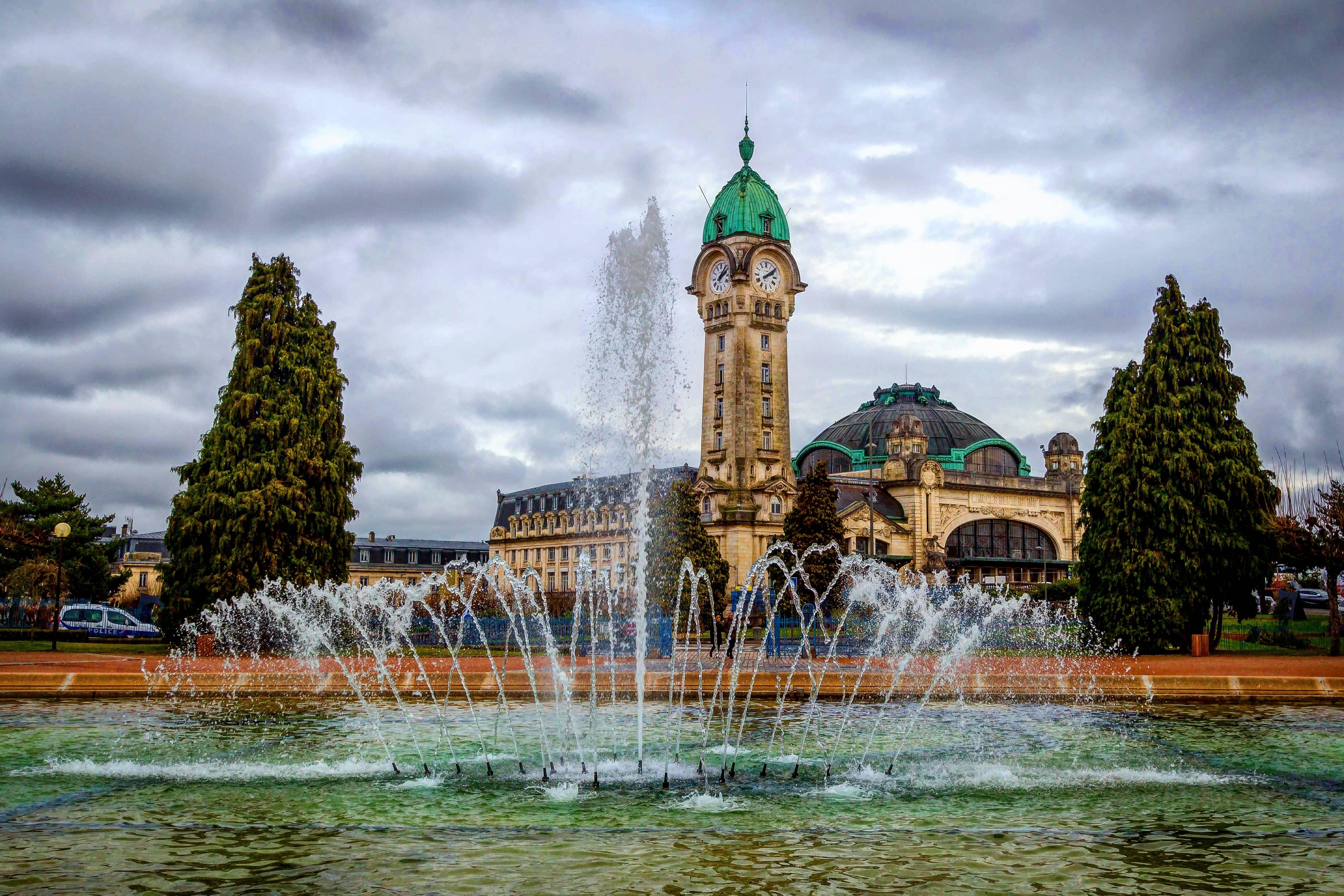 Photo 1: Gare des Bénédictins, une des plus belles d'Europe