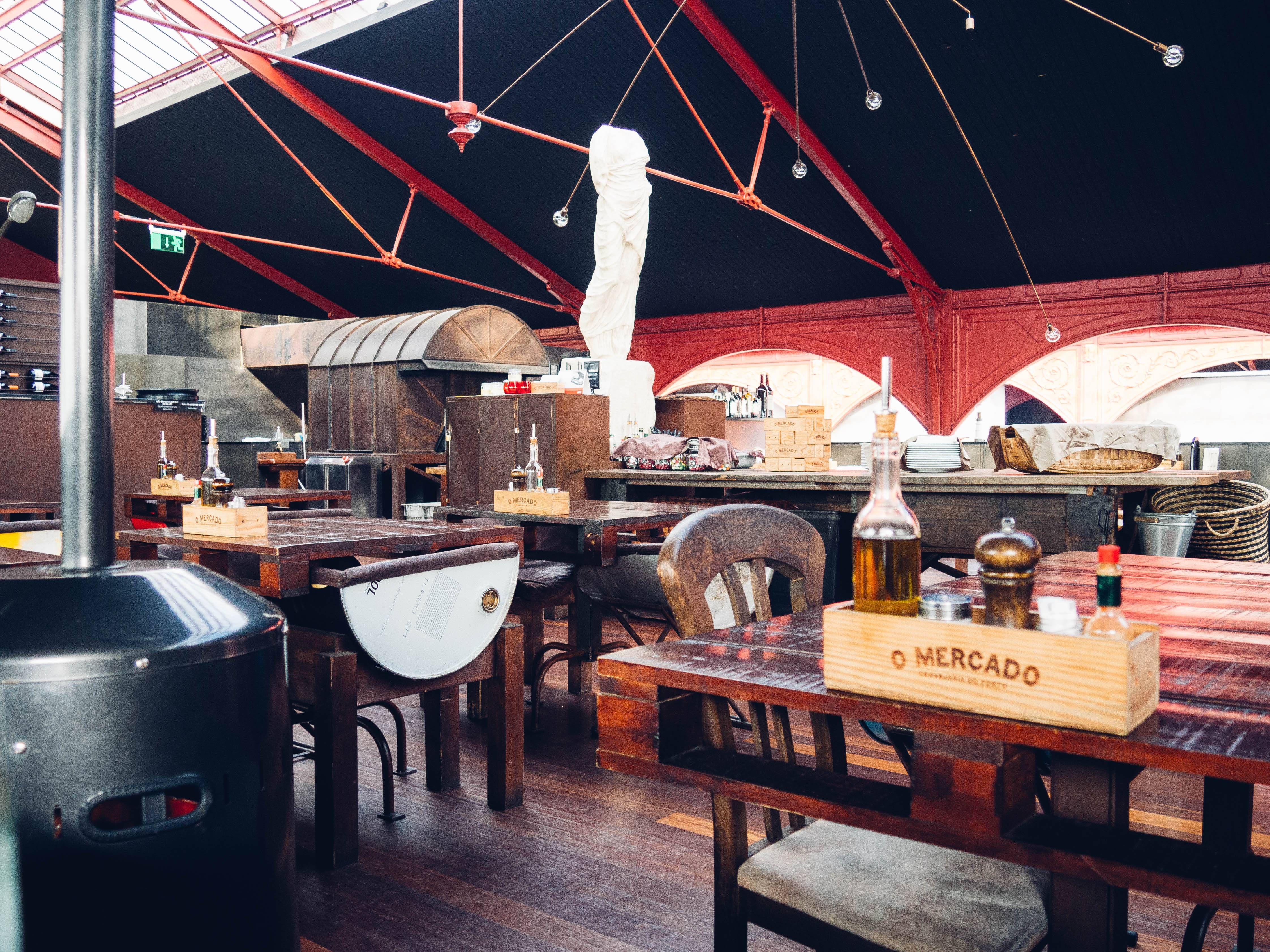 Photo 3: O Mercado, le restaurant industriel