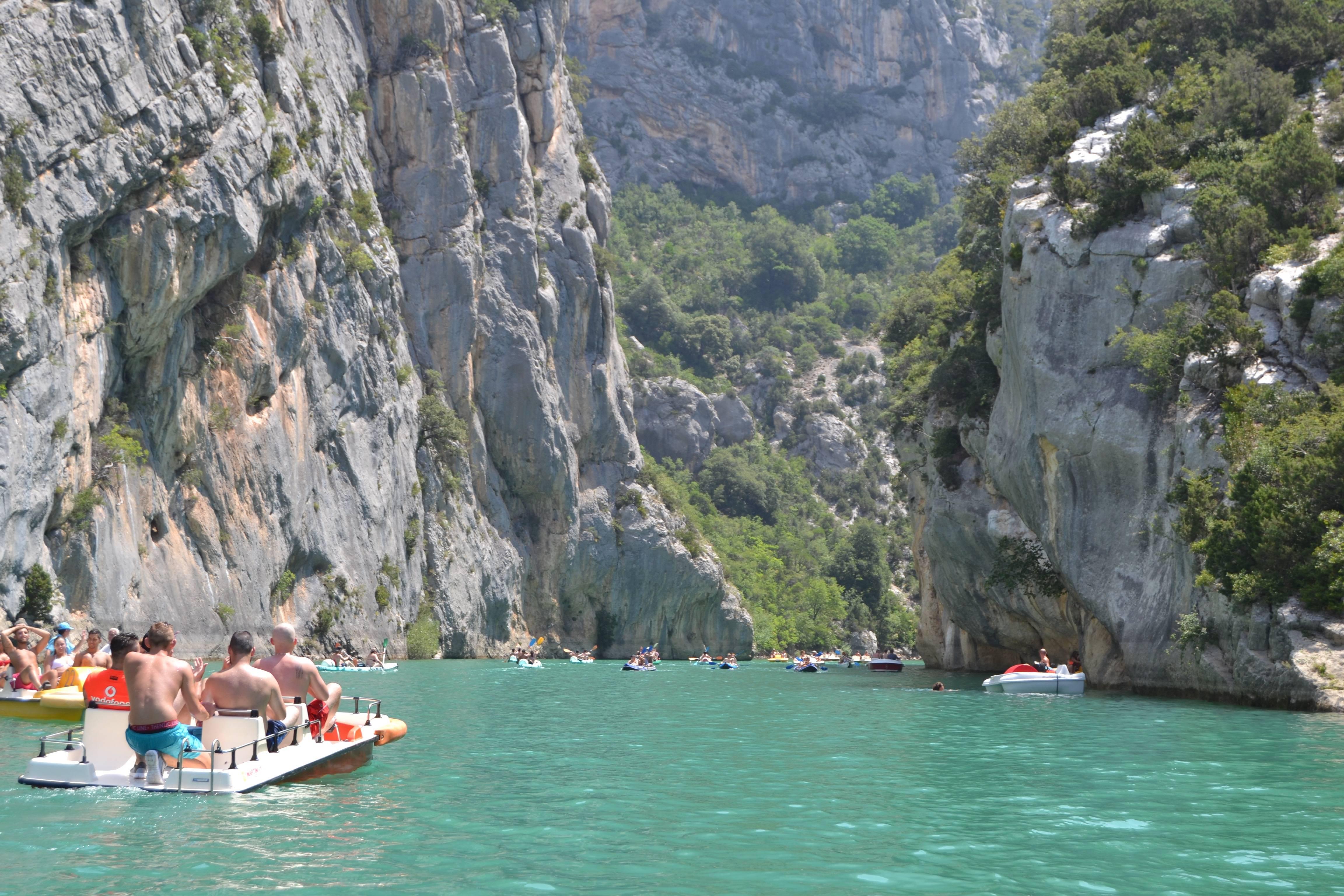 Photo 2: Baignade au lac de sainte croix dans les Gorges du Verdon