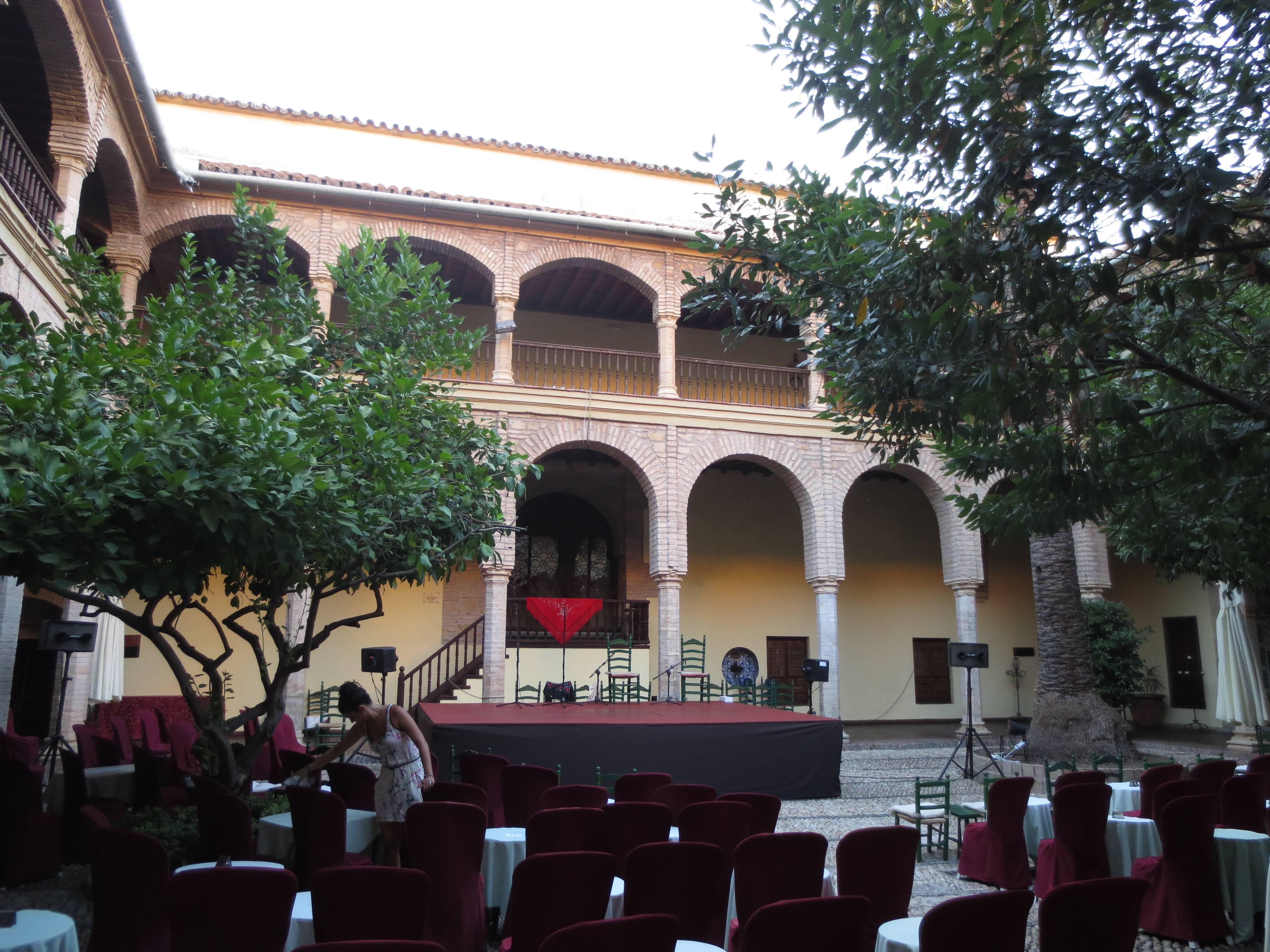 Photo 1: spectacle de flamenco dans un cadre magnifique