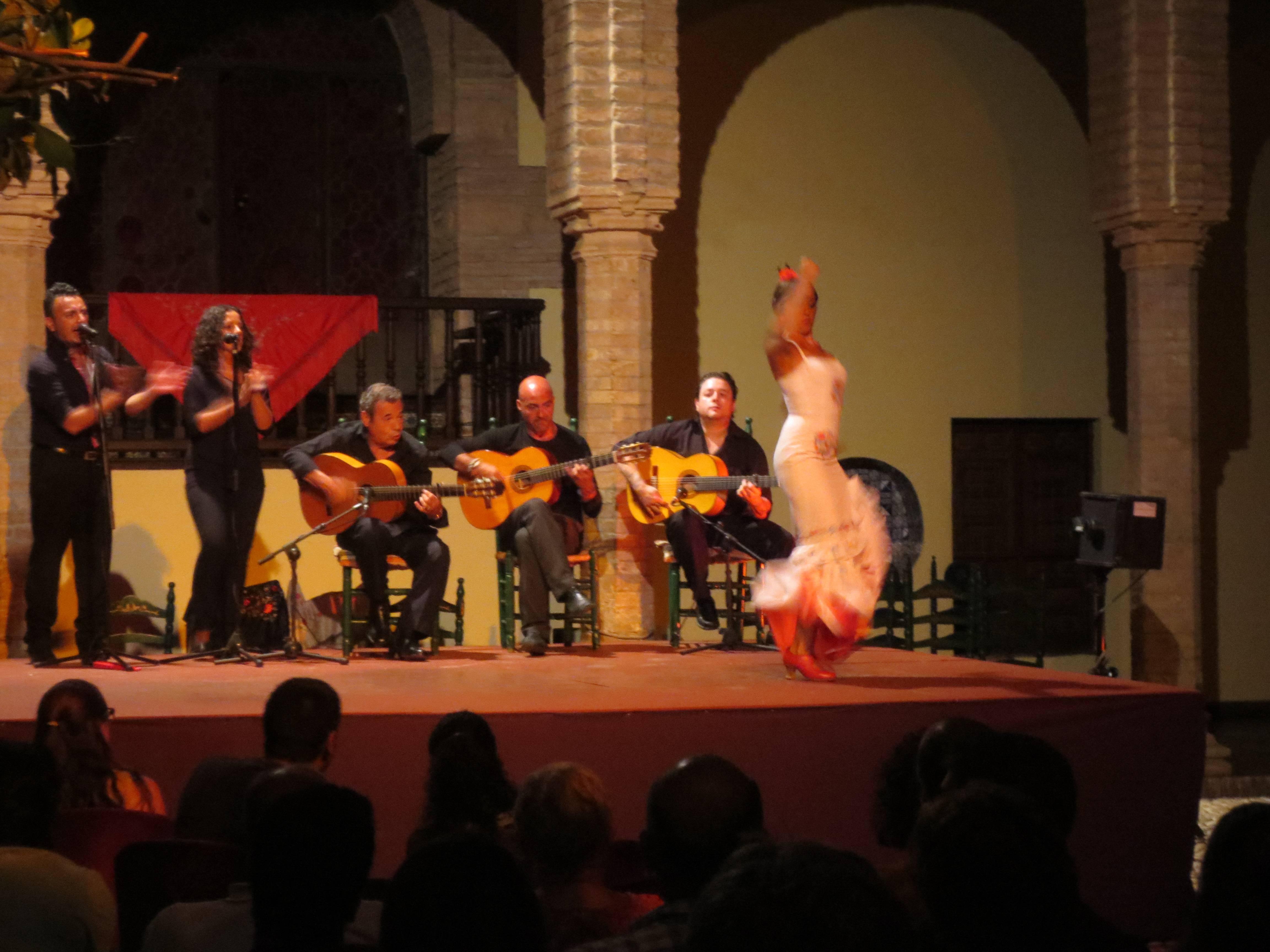 Photo 2: spectacle de flamenco dans un cadre magnifique