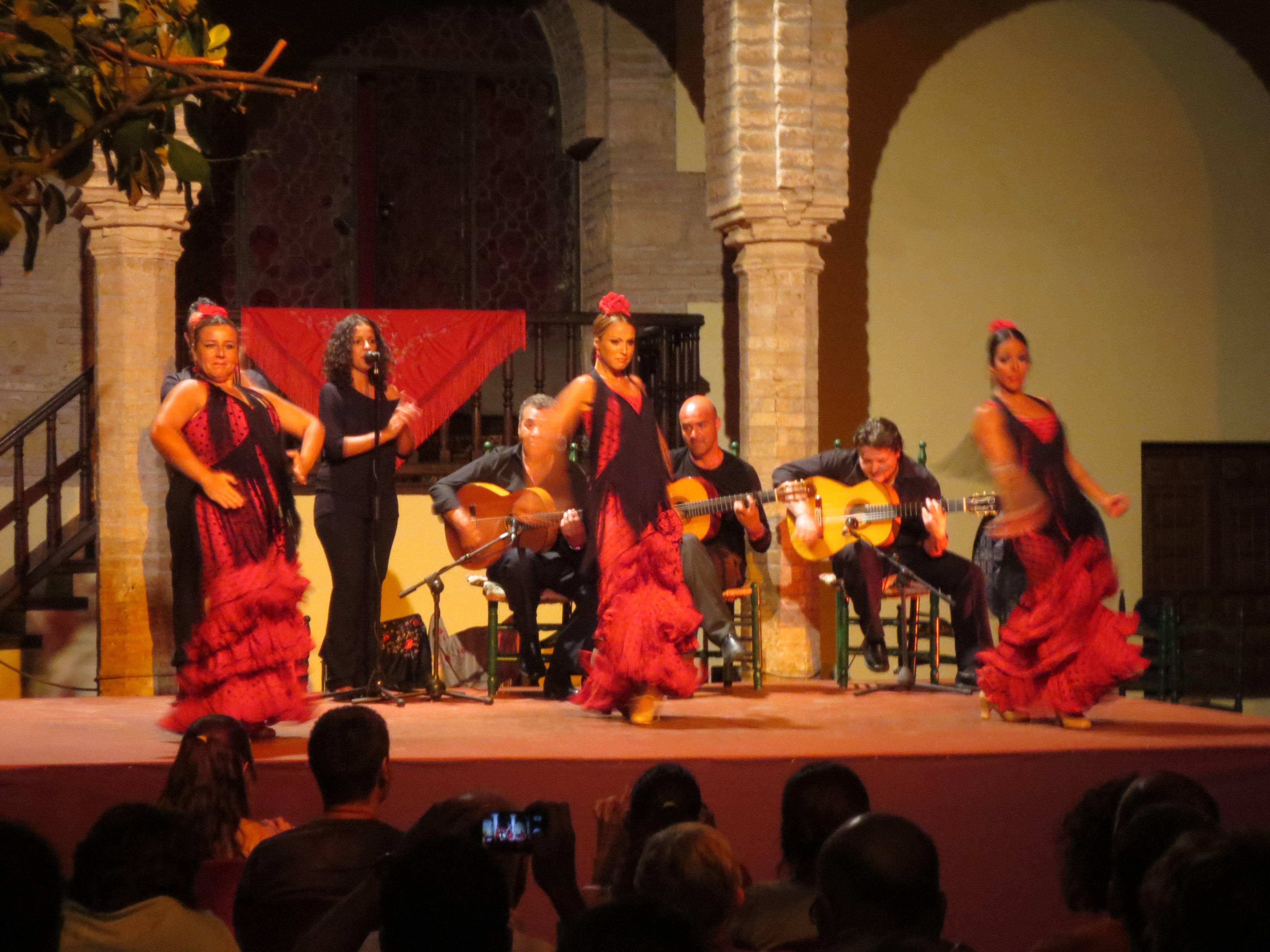 Photo 3: spectacle de flamenco dans un cadre magnifique