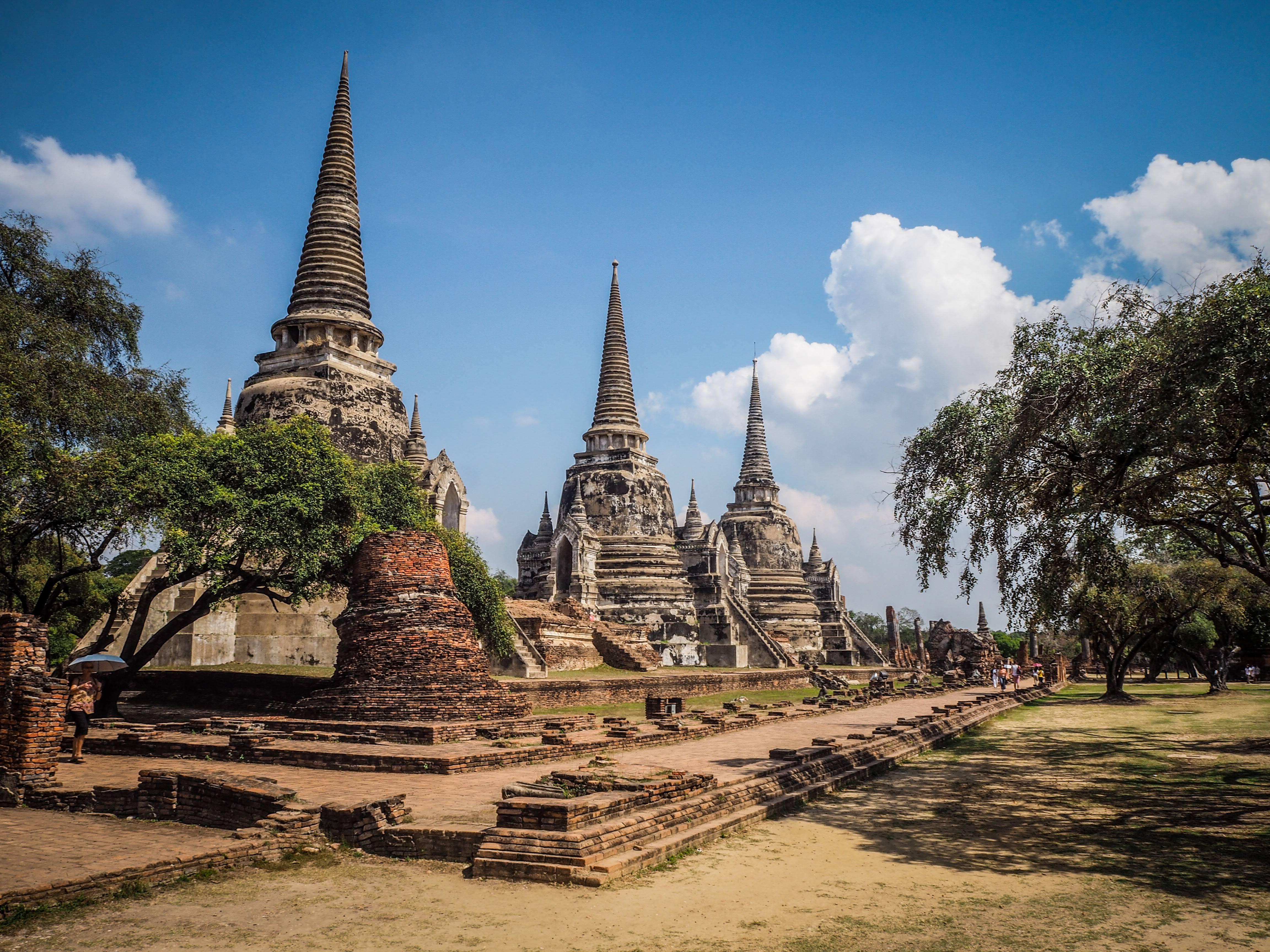 Photo 2: Flâner parmi les Temples d'Ayutthaya -Thailande