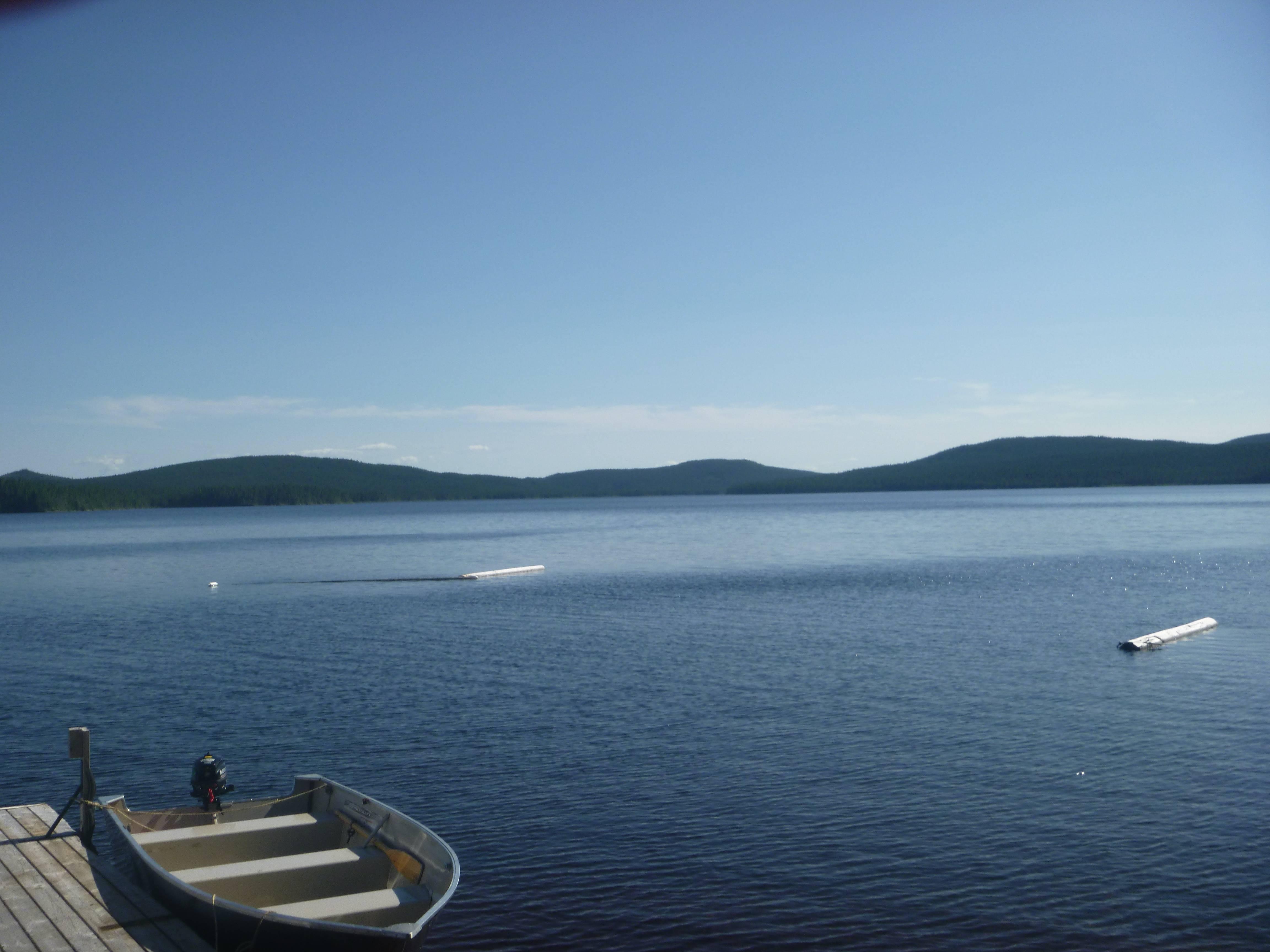 Photo 1: Pêche sur le Lac Pikauba, réserve des Laurentides