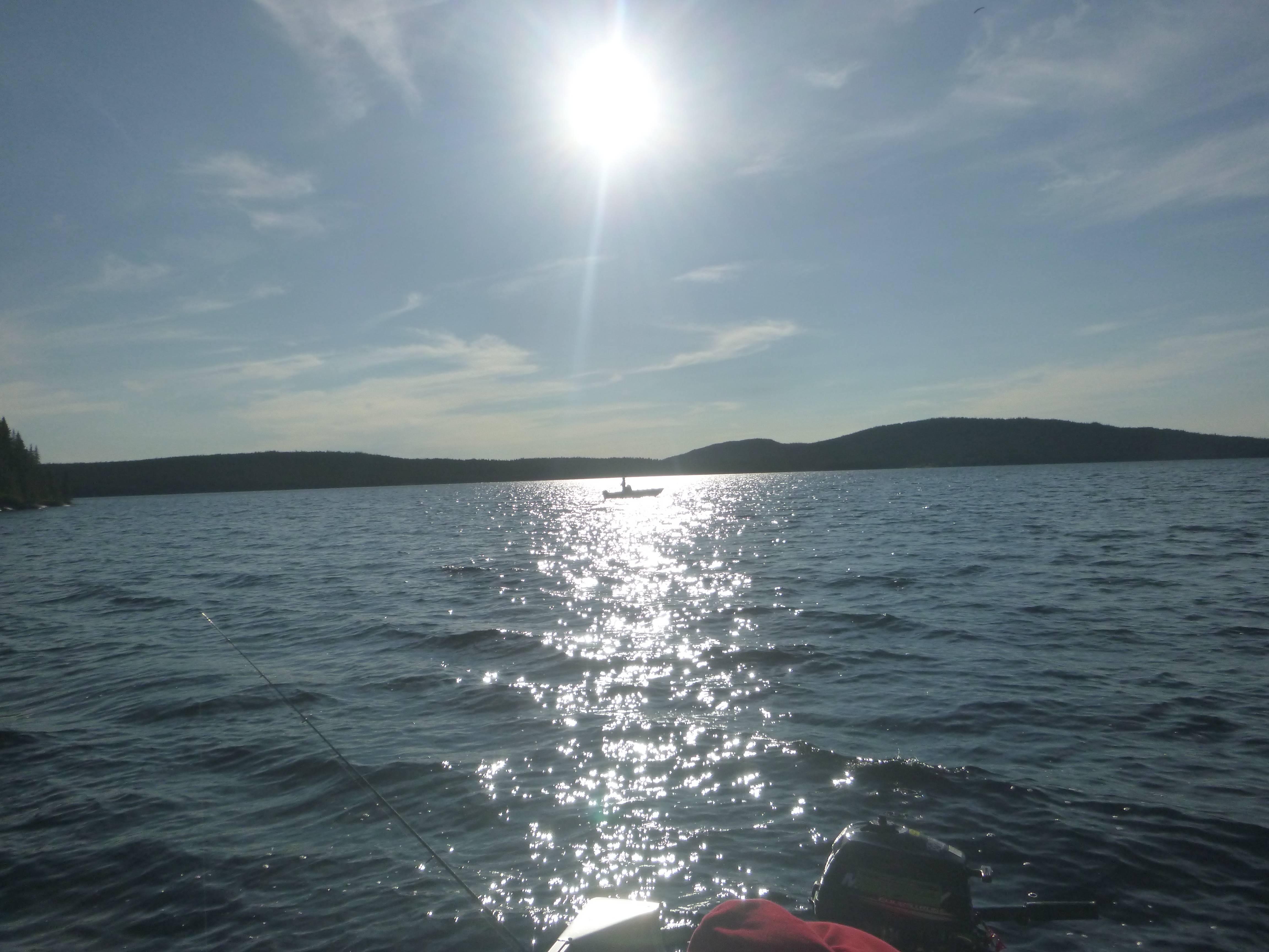 Photo 2: Pêche sur le Lac Pikauba, réserve des Laurentides