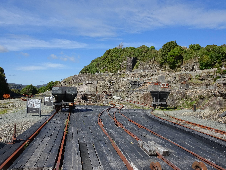 Photo 2: L'ancienne mine de Charbon de Denniston.