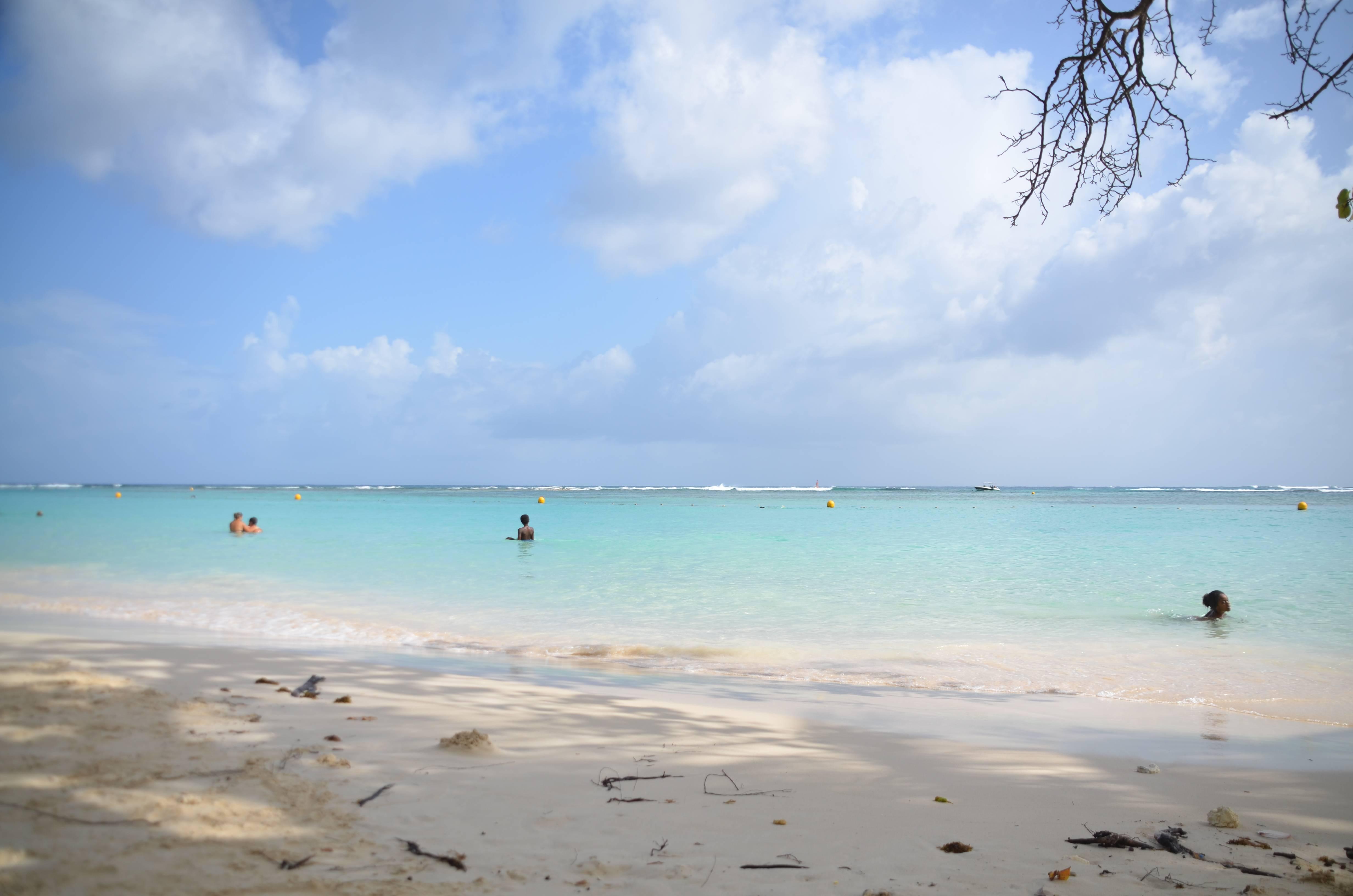 Photo 3: Sainte Anne, son eau turquoise et ses barbecues du Dimanche !