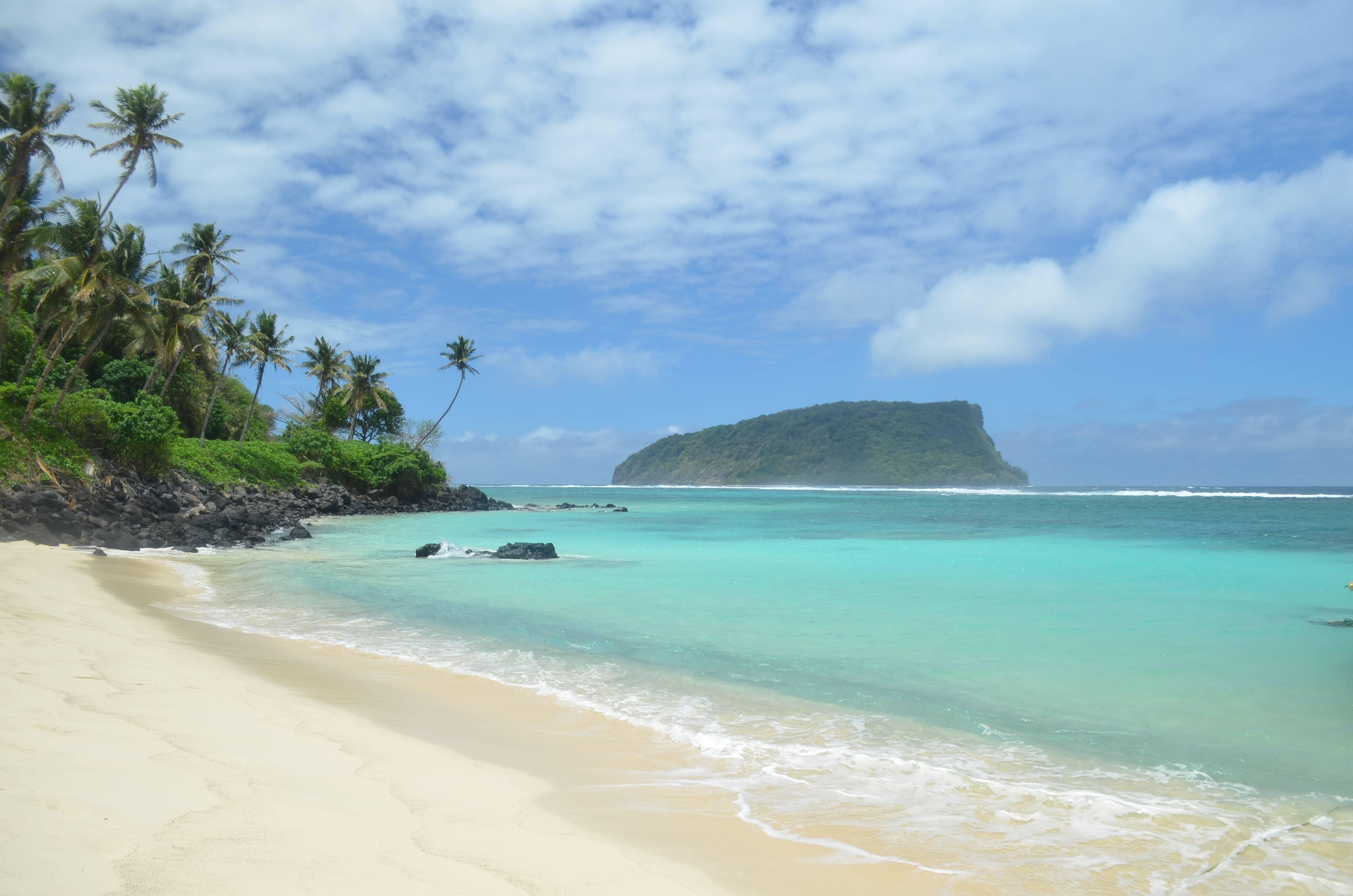 Photo 1: Lalomanu Beach, une des plus belles plages du Pacifique