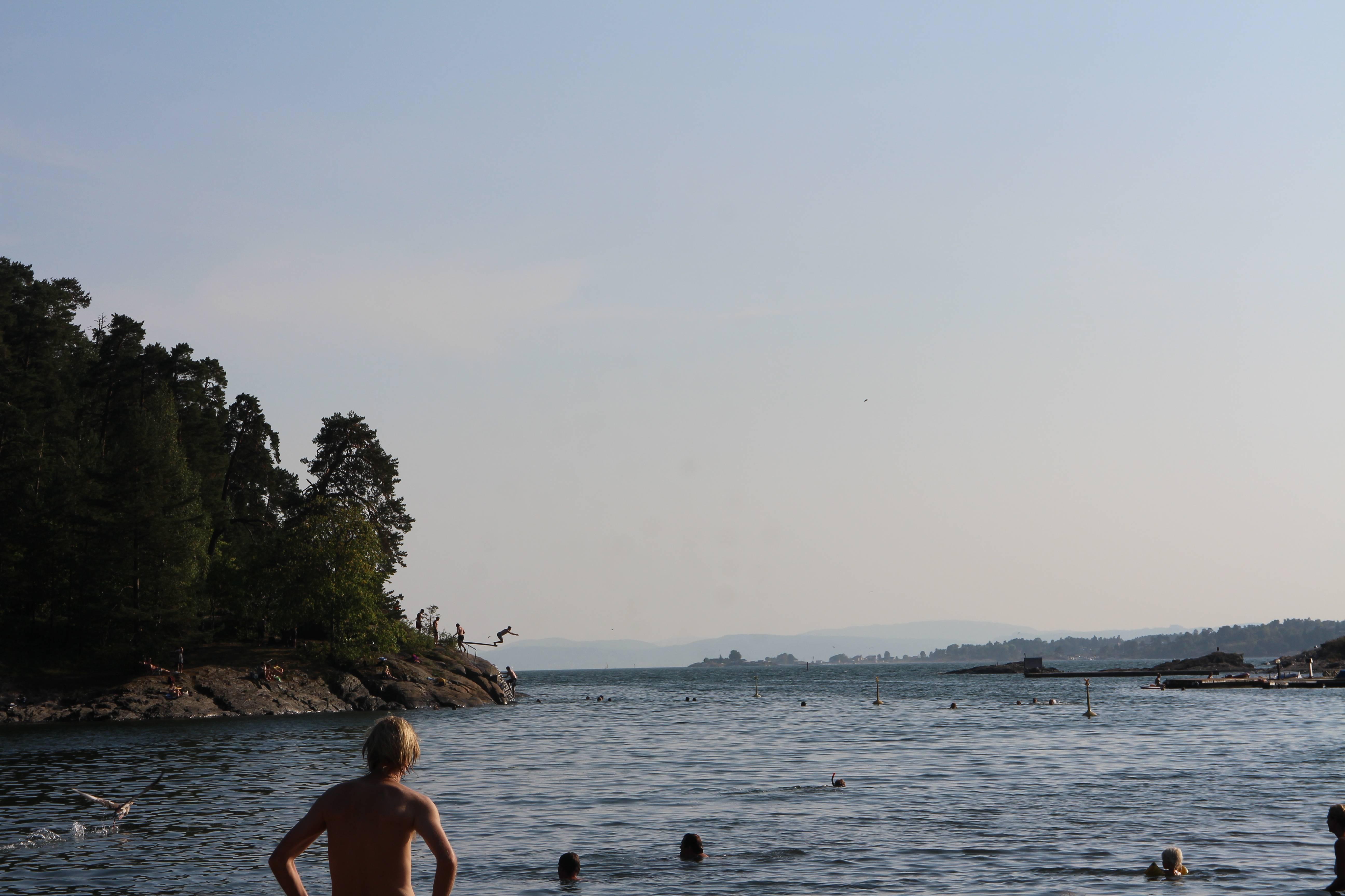 Photo 2: La plage de Bygdoy, la presqu'ile d'Oslo
