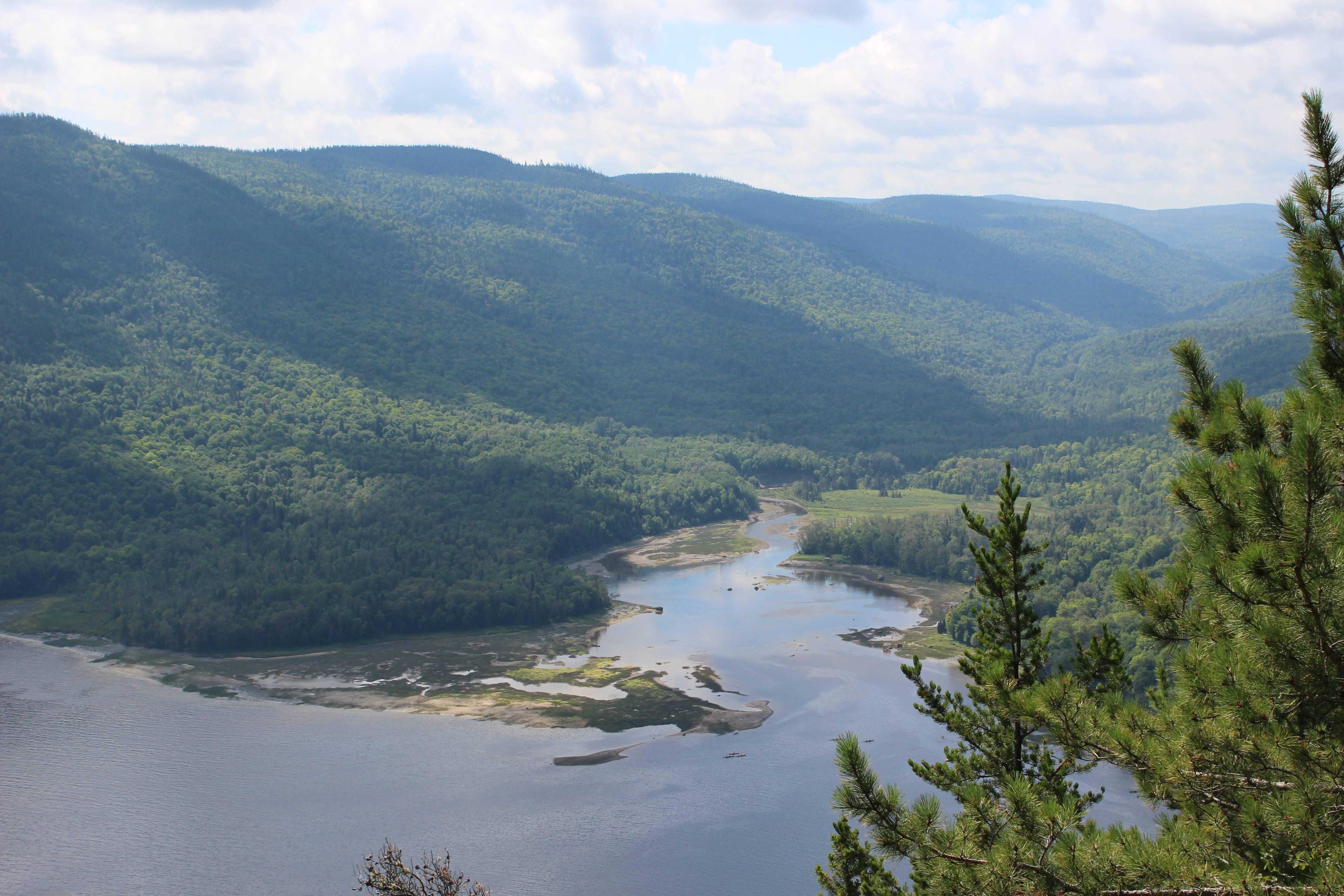Photo 1: CANADA,  Balade rando Parc national du Fjord-du-Saguenay, secteur Baie-Éternité