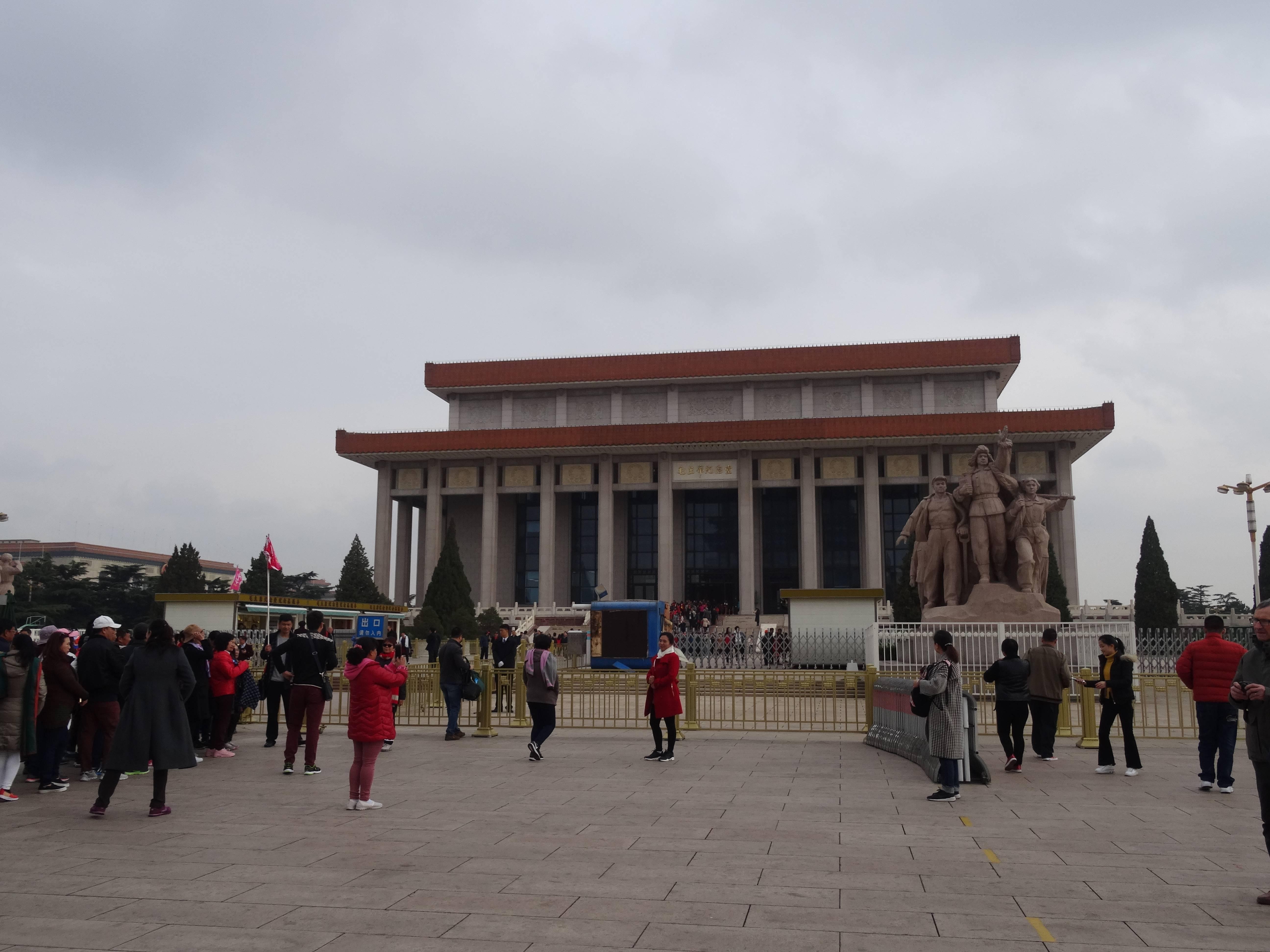 Photo 3: Chine, Pékin, la Place Tien'anmen....un incontournable...