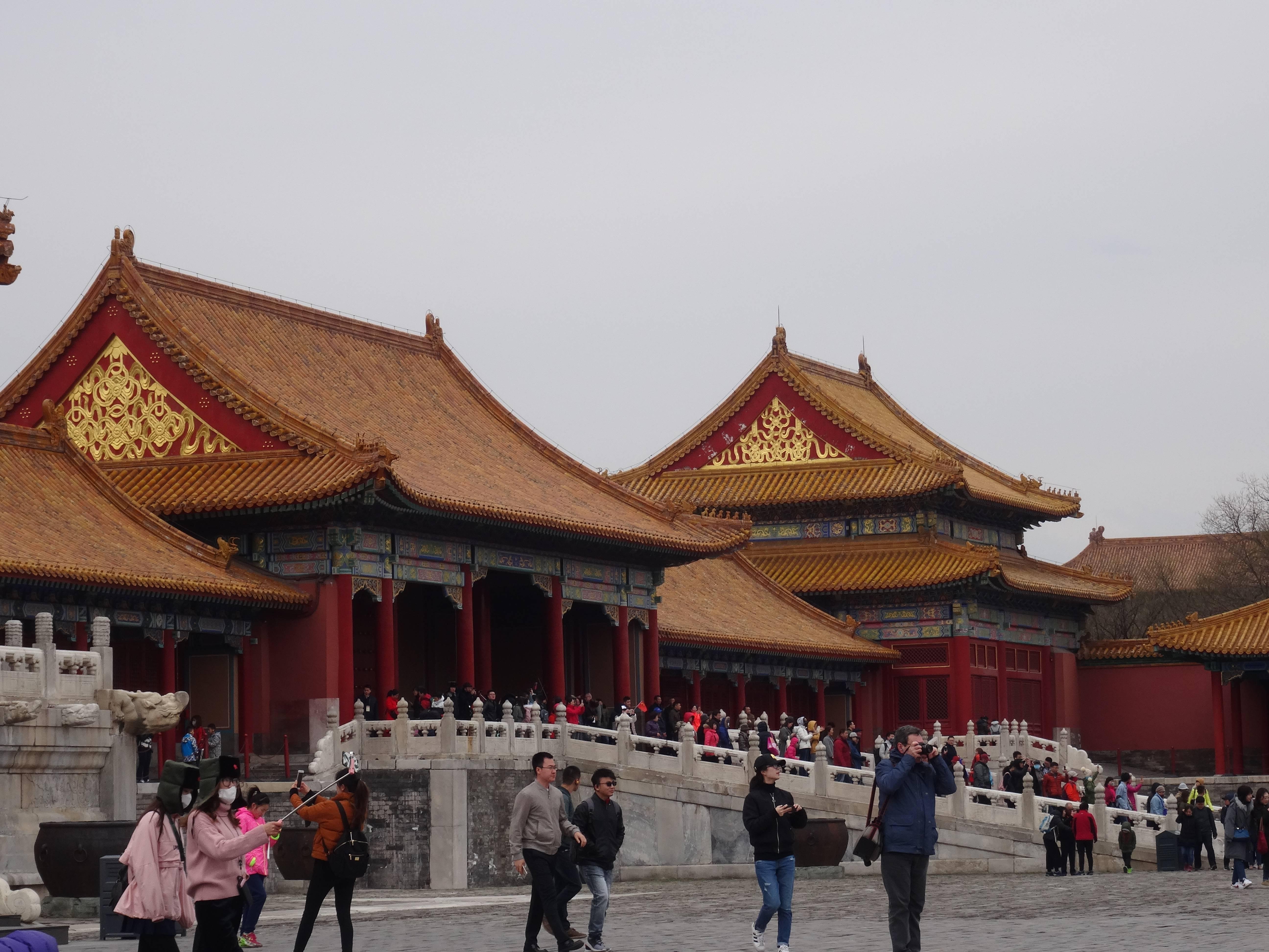 Photo 3: La Cité interdite à Pékin....en compagnie de milliers de touristes...chinois