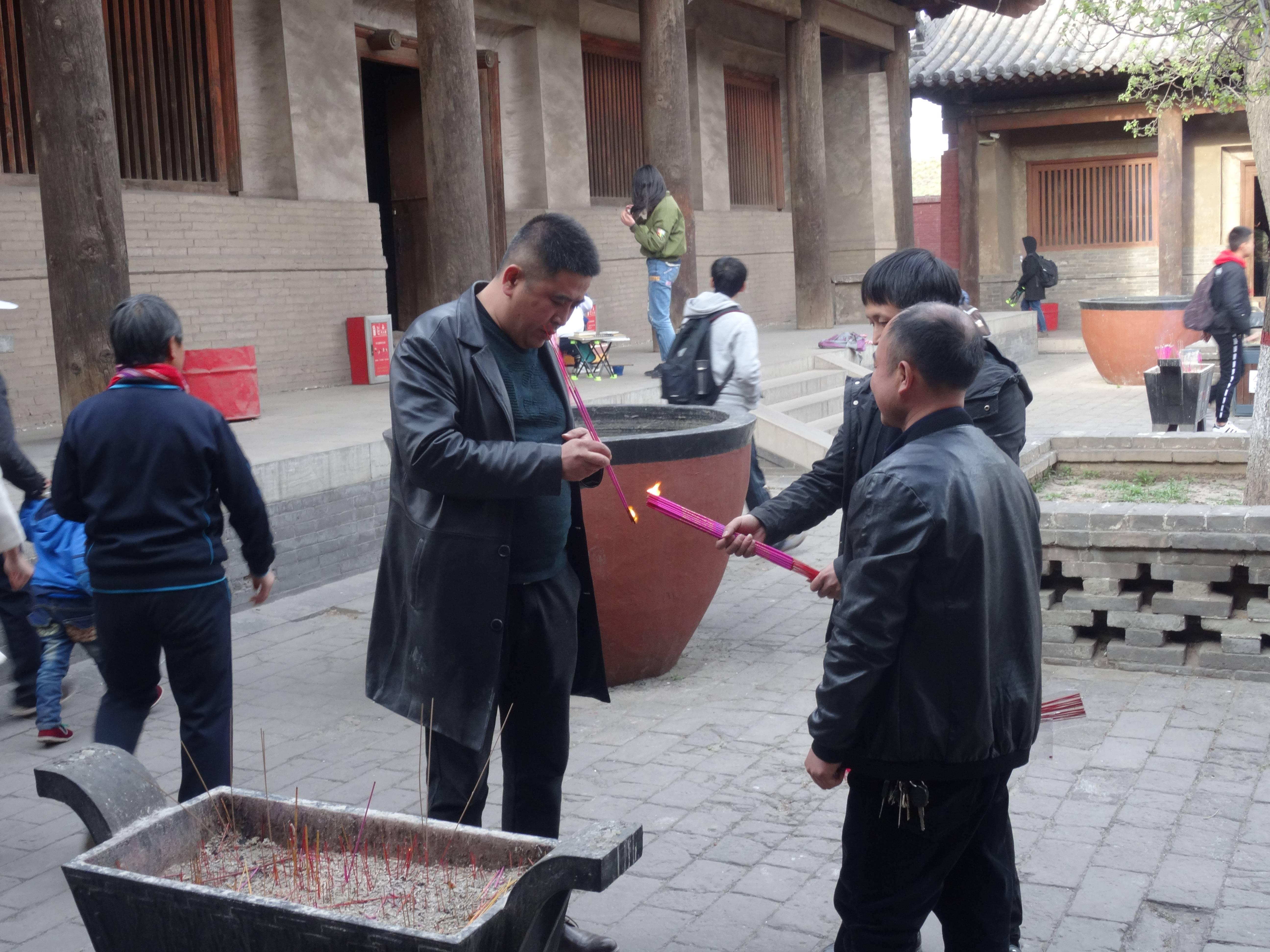Photo 2: Temple Shuanglin à Pingyao, Chine. Enfin un endroit rempli de quiétude.....