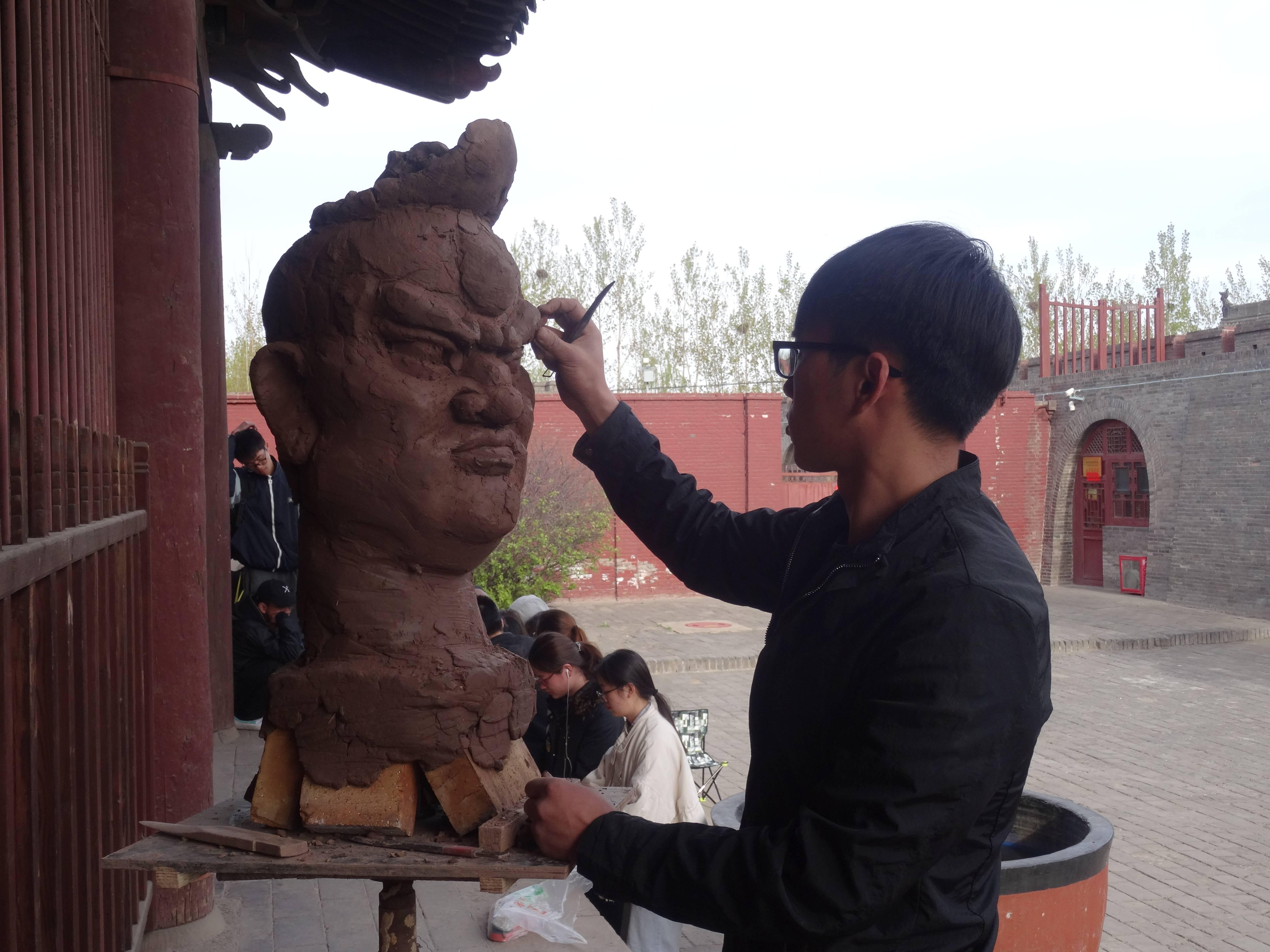Photo 3: Temple Shuanglin à Pingyao, Chine. Enfin un endroit rempli de quiétude.....