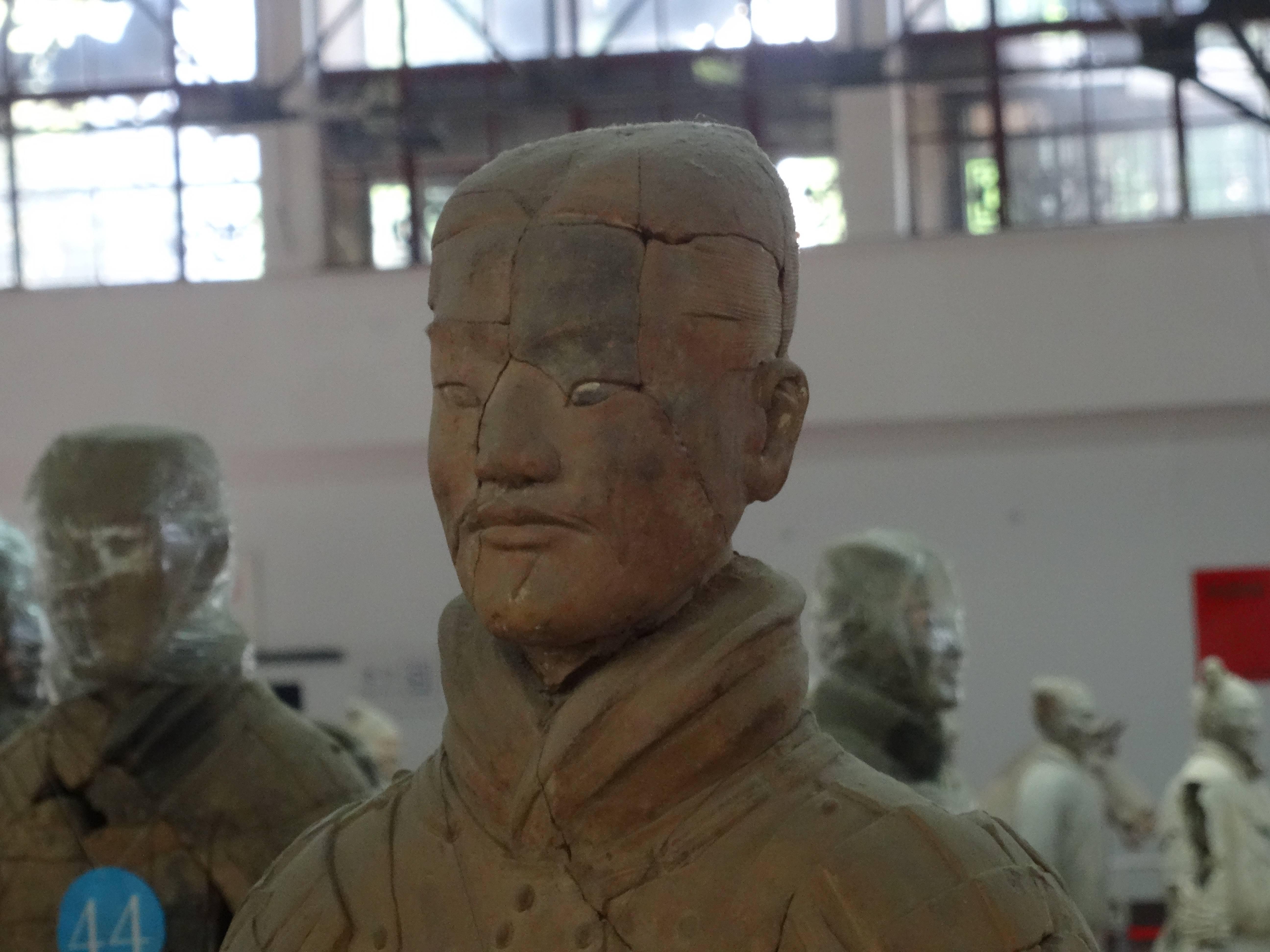 Photo 3: L'Armée de terre cuite à Xi'An, Chine. Un rêve réalisé...