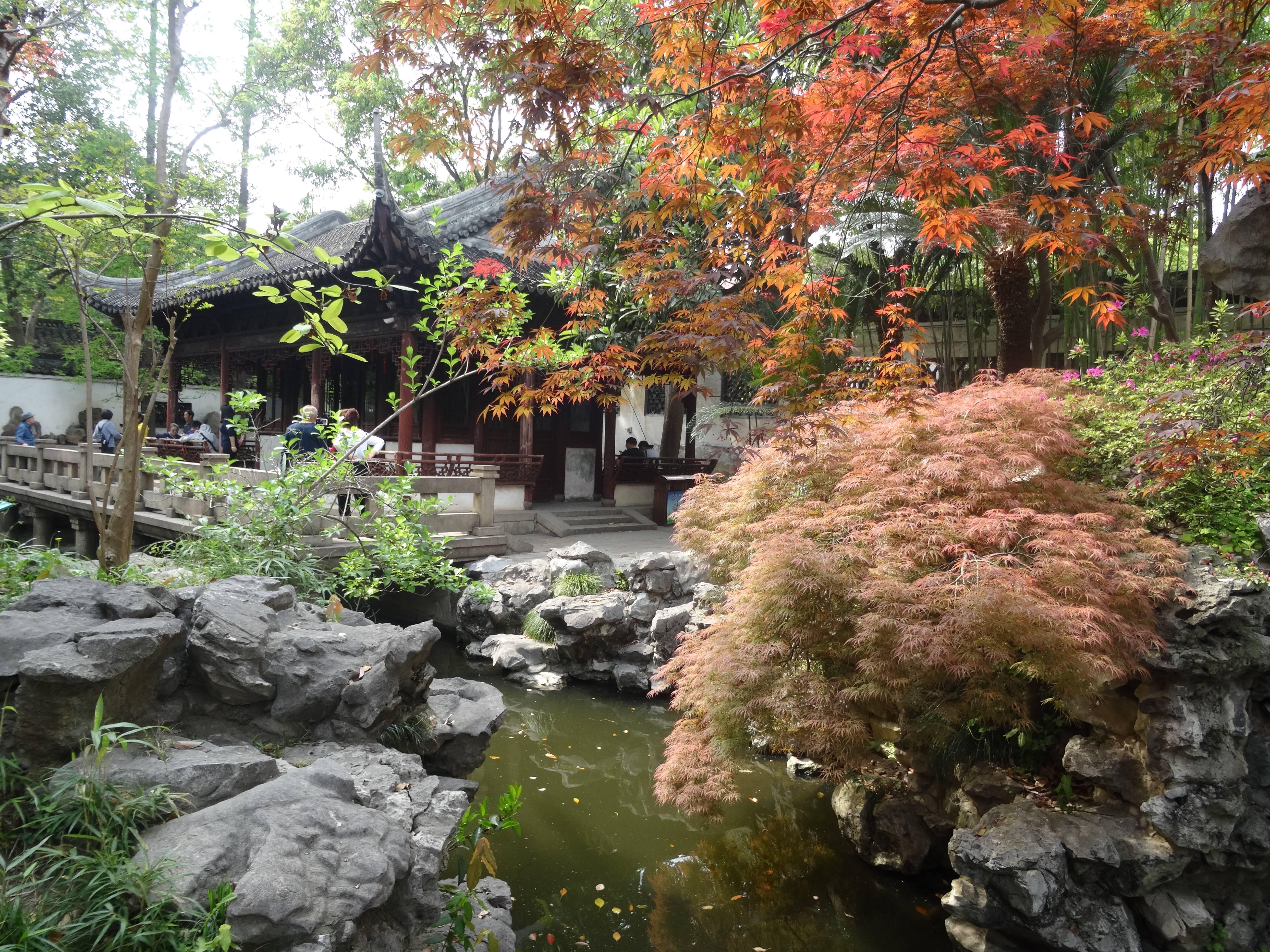 Photo 1: Shangaï, le Jardin du Mandarin Yu