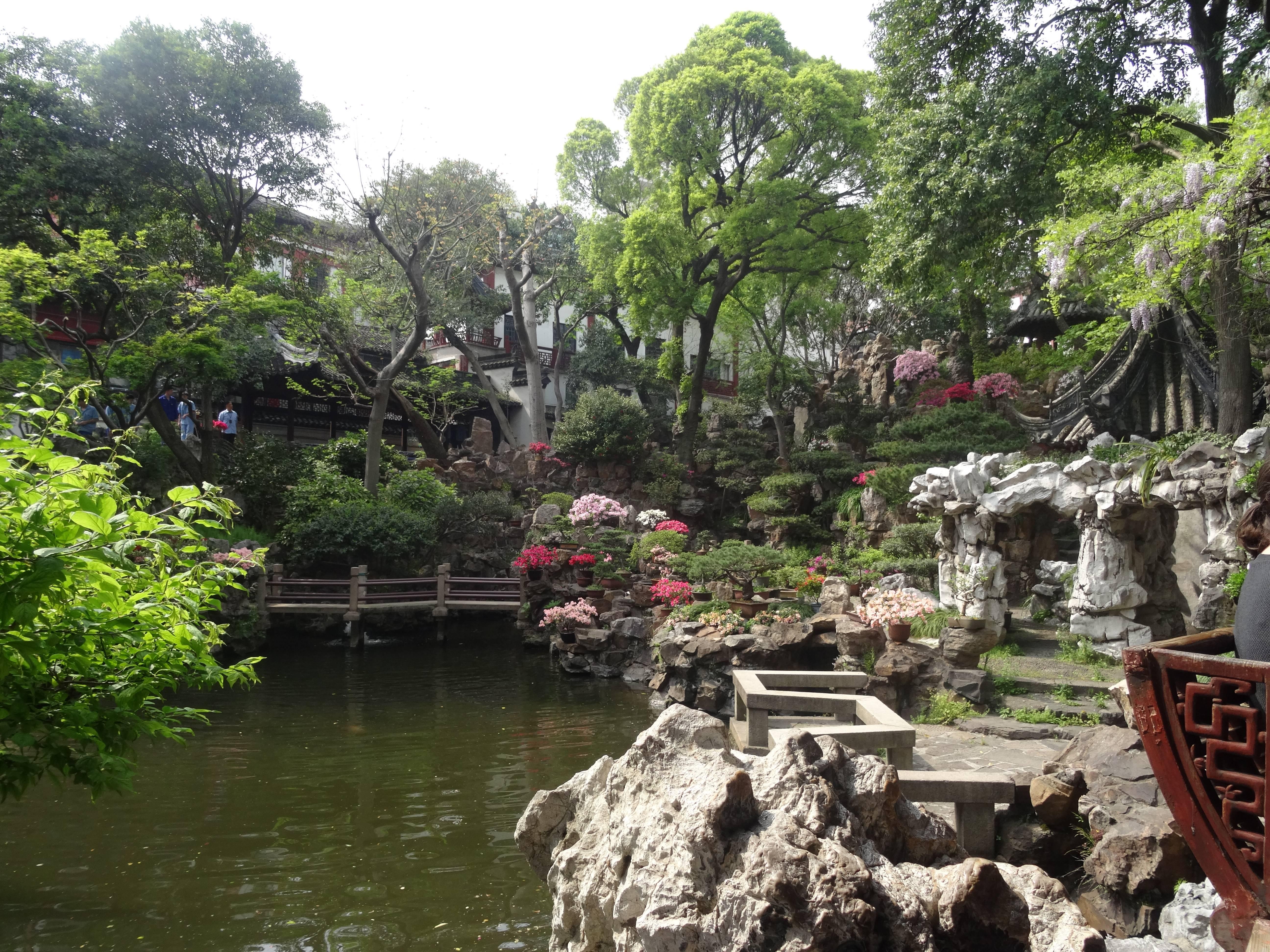 Photo 3: Shangaï, le Jardin du Mandarin Yu