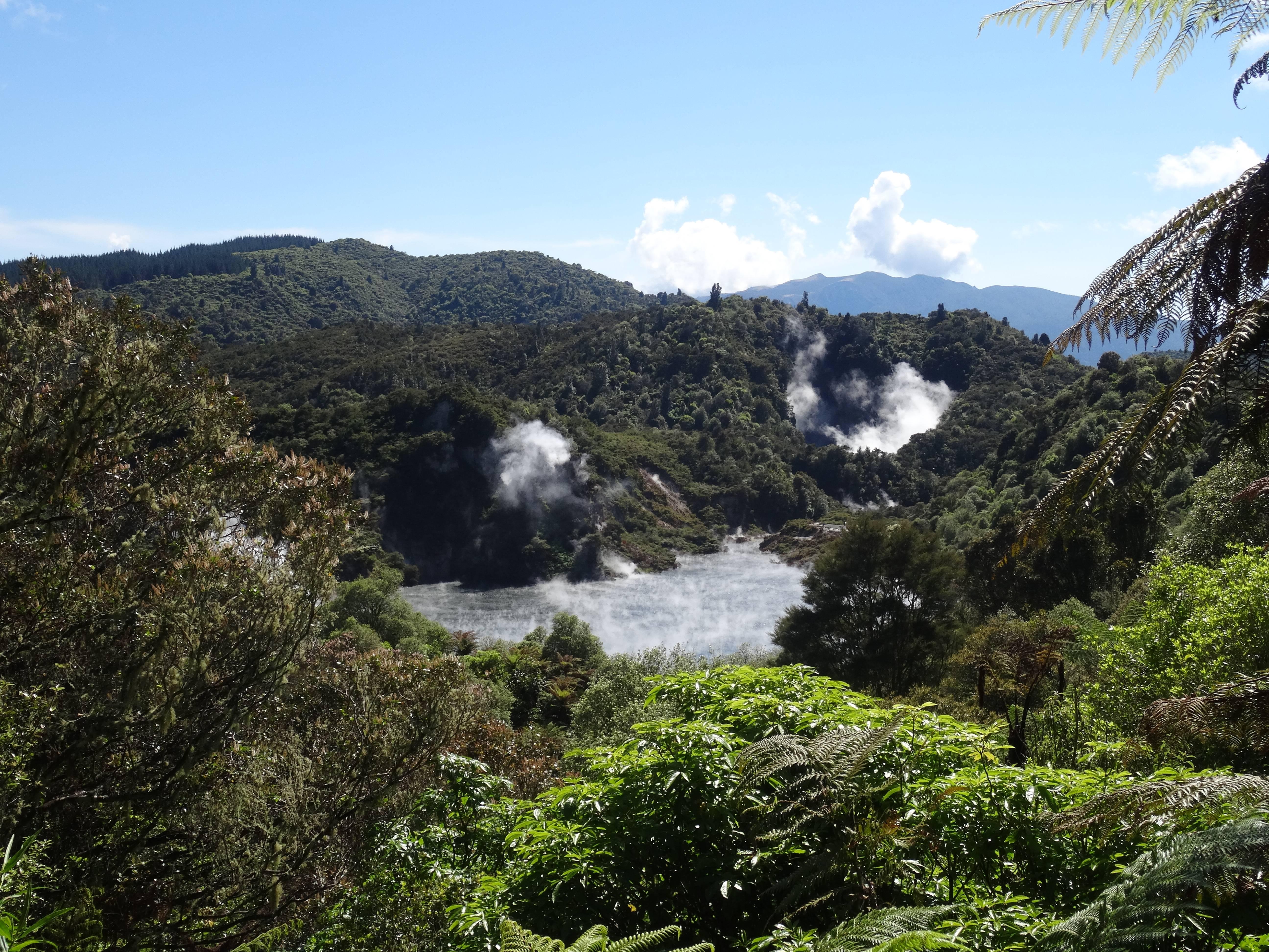 Photo 1: Waimangu Volcanic Valley, Rotorua, Nouvelle-Zélande