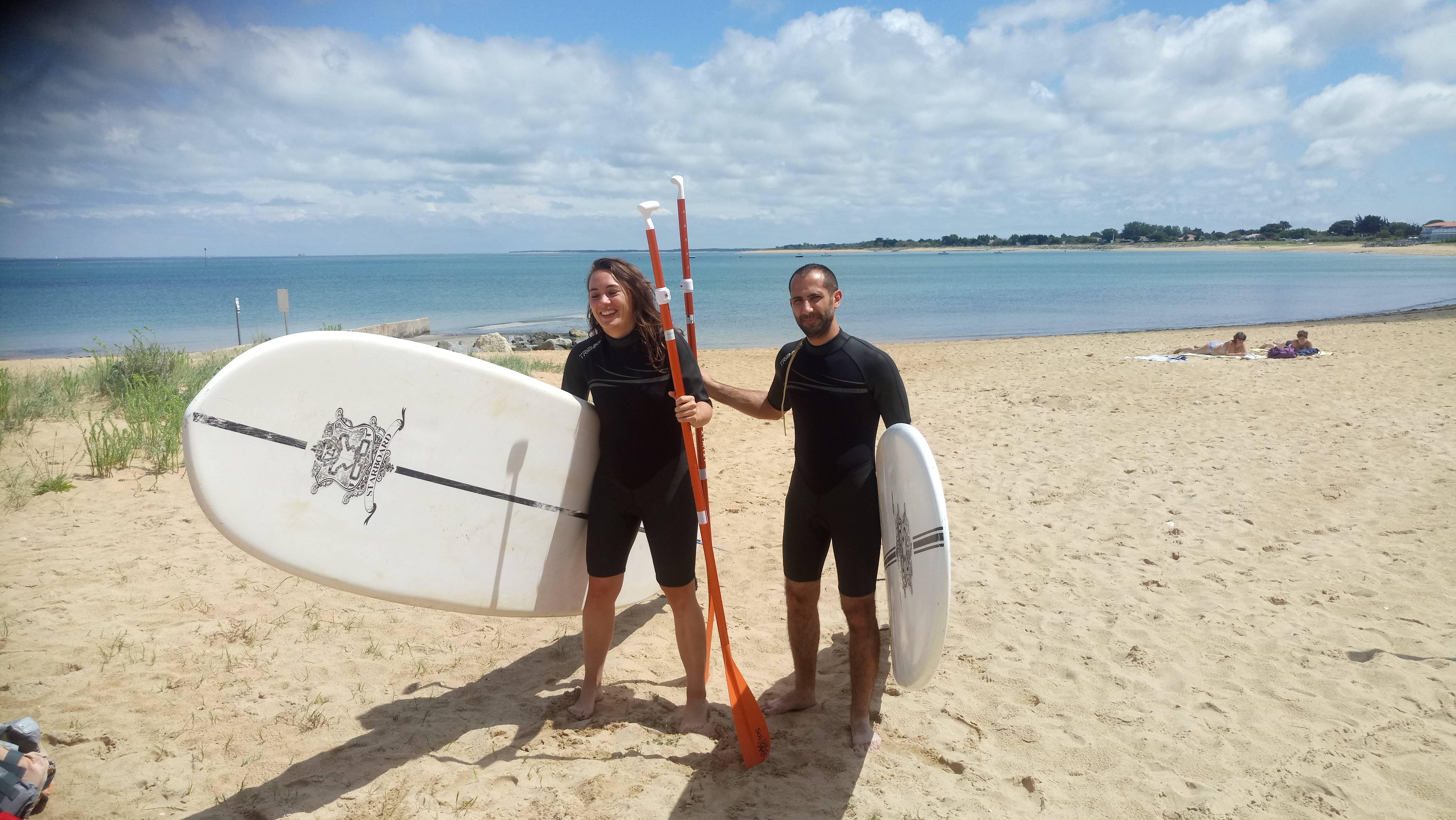 Photo 1: St denis d Oleron paddle avec Sur une île