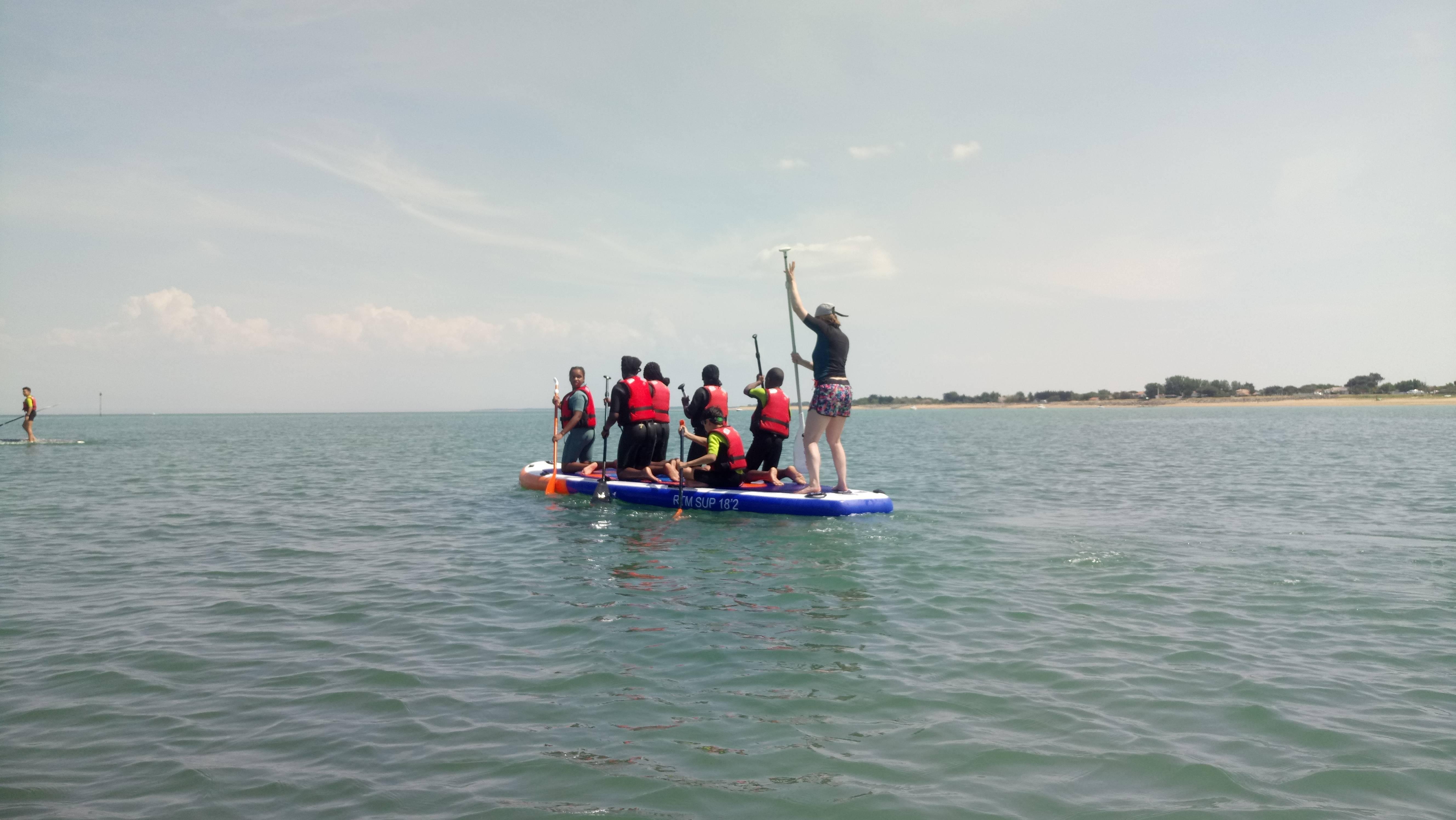 Photo 3: St denis d Oleron paddle avec Sur une île