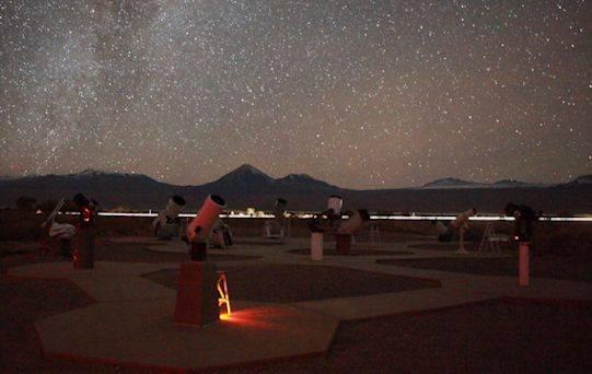 Photo 1: Observation du ciel d'Atacama en Français