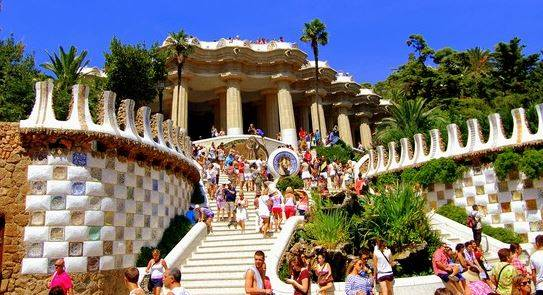 Photo 3: Le Parc Guell - Un autre incontournable de Barcelone