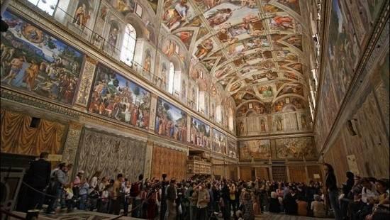 Photo 3: Le Vatican - La Basilique St Pierre, le musée et la Chapelle Sixtine