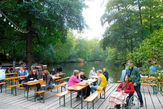 Photo 1: Café am neuen See - Biergarten