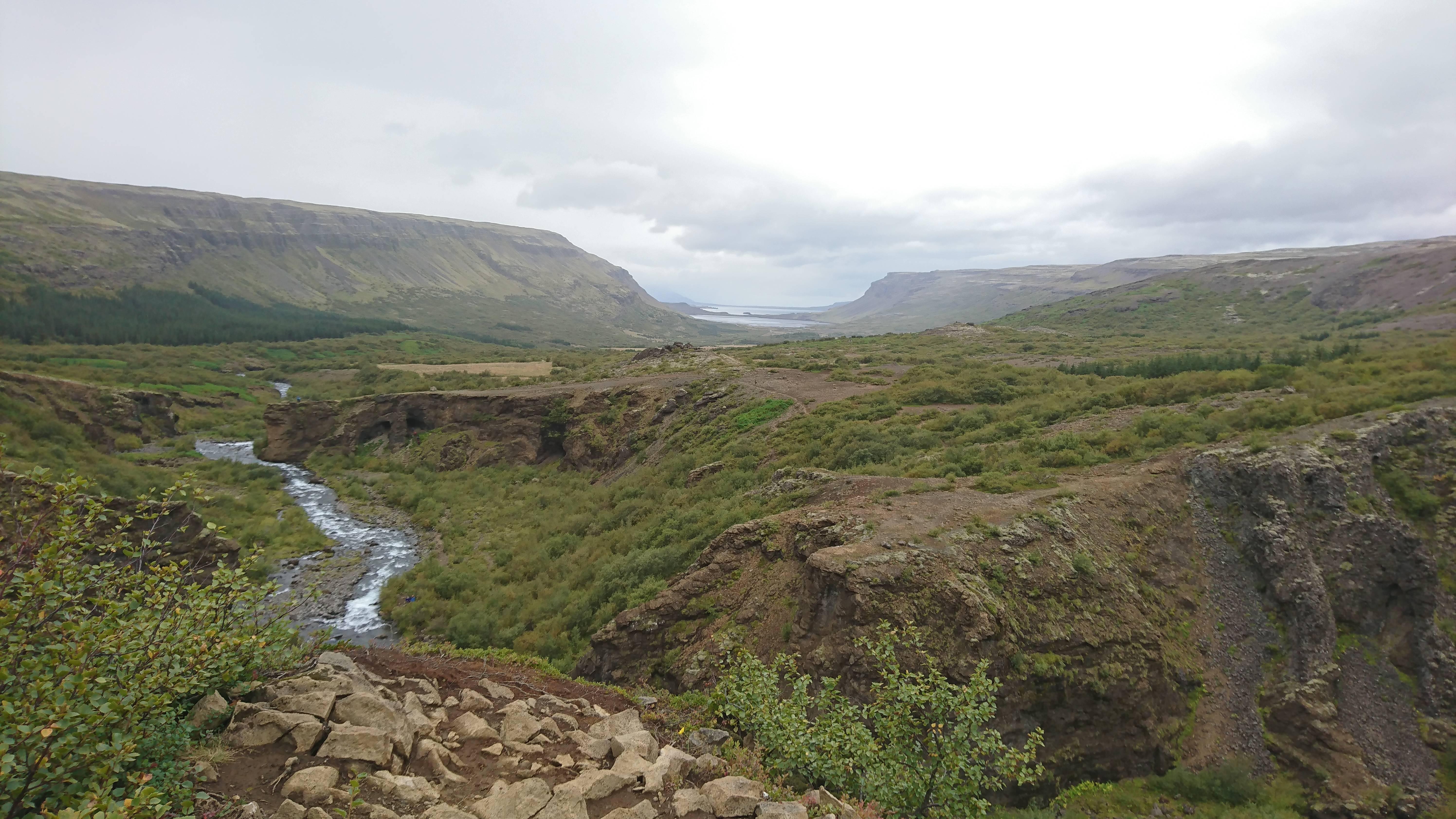 Photo 3: Glymur, une cascade bien cachée !