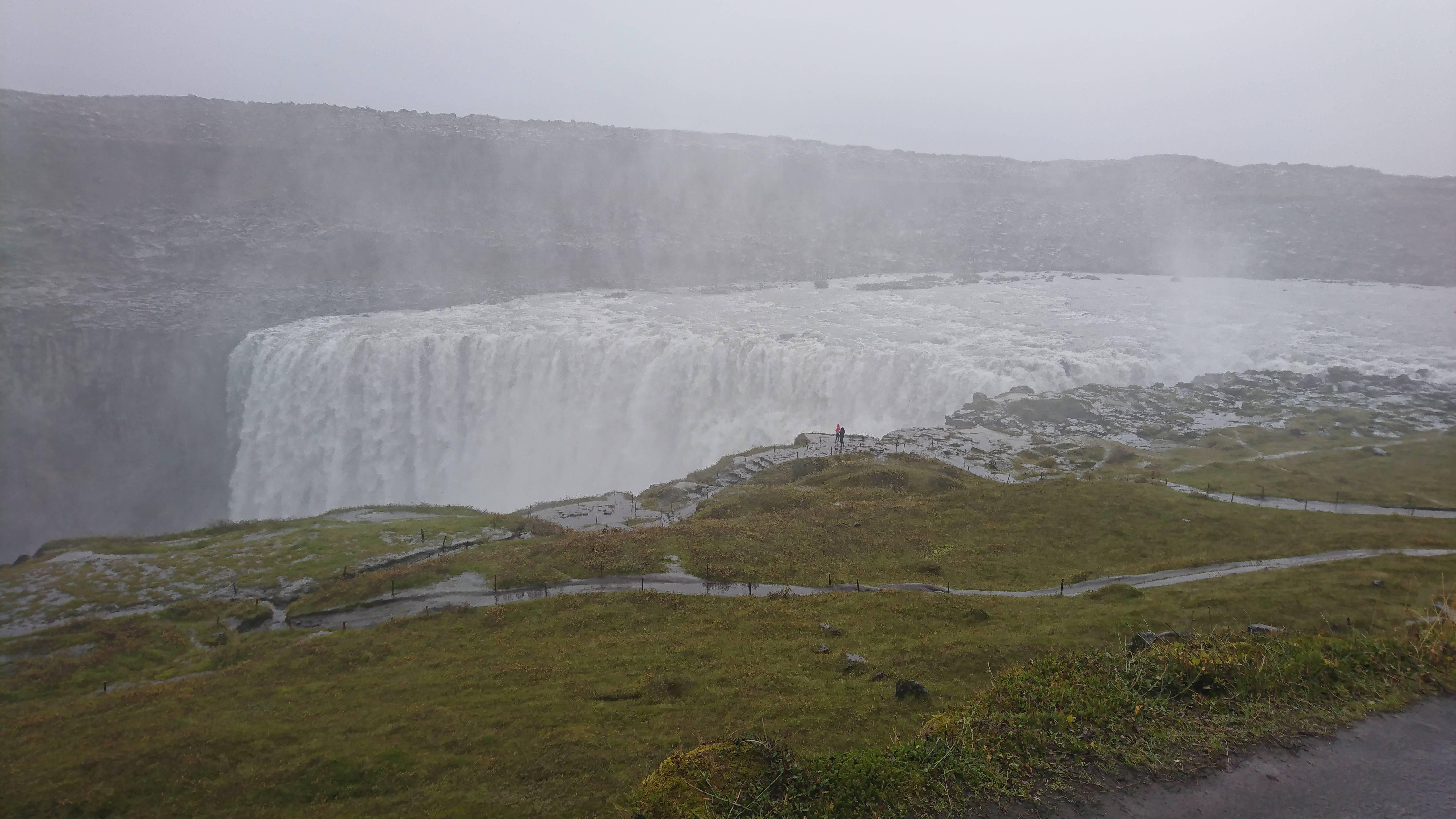 Photo 2: Dettifoss, une des plus grosses cascades d'Islande
