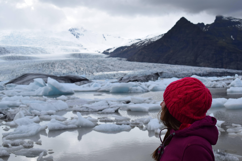 Photo 3: jokulsarlon : iceberg et plage de sable noir en islande du sud