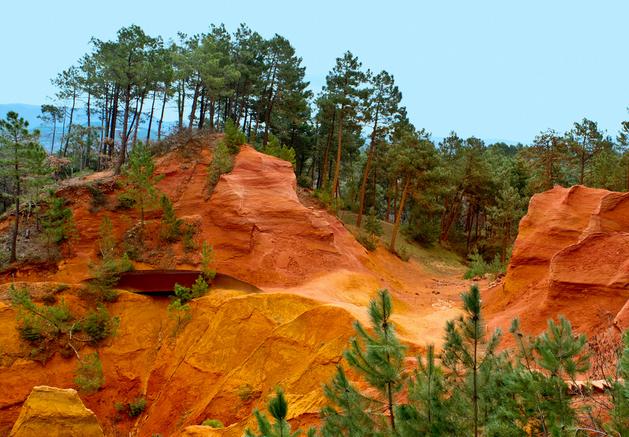 Photo 1: Les ocres de Roussillon... le grand Canyon Français !