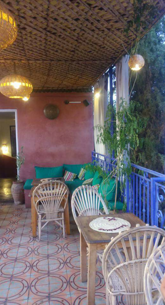 Photo 1: Café kessabine. Au coeur de Marrakech.