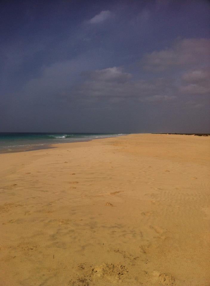 Photo 2: Boa-Vista, l'île autrefois verdoyante qui offre un paysage lunaire