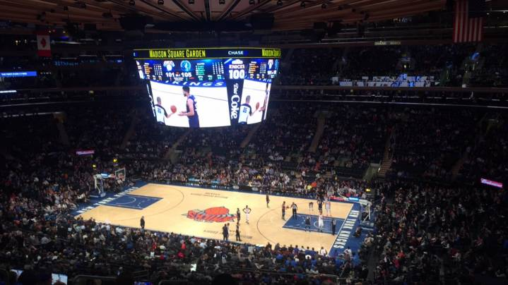Photo 1: Match de basket au Madison Square garden